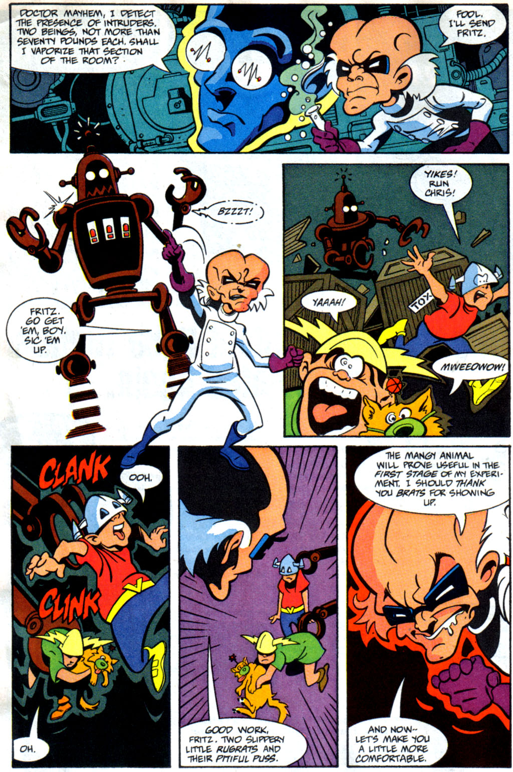 Read online Defenders of Dynatron City comic -  Issue #1 - 6