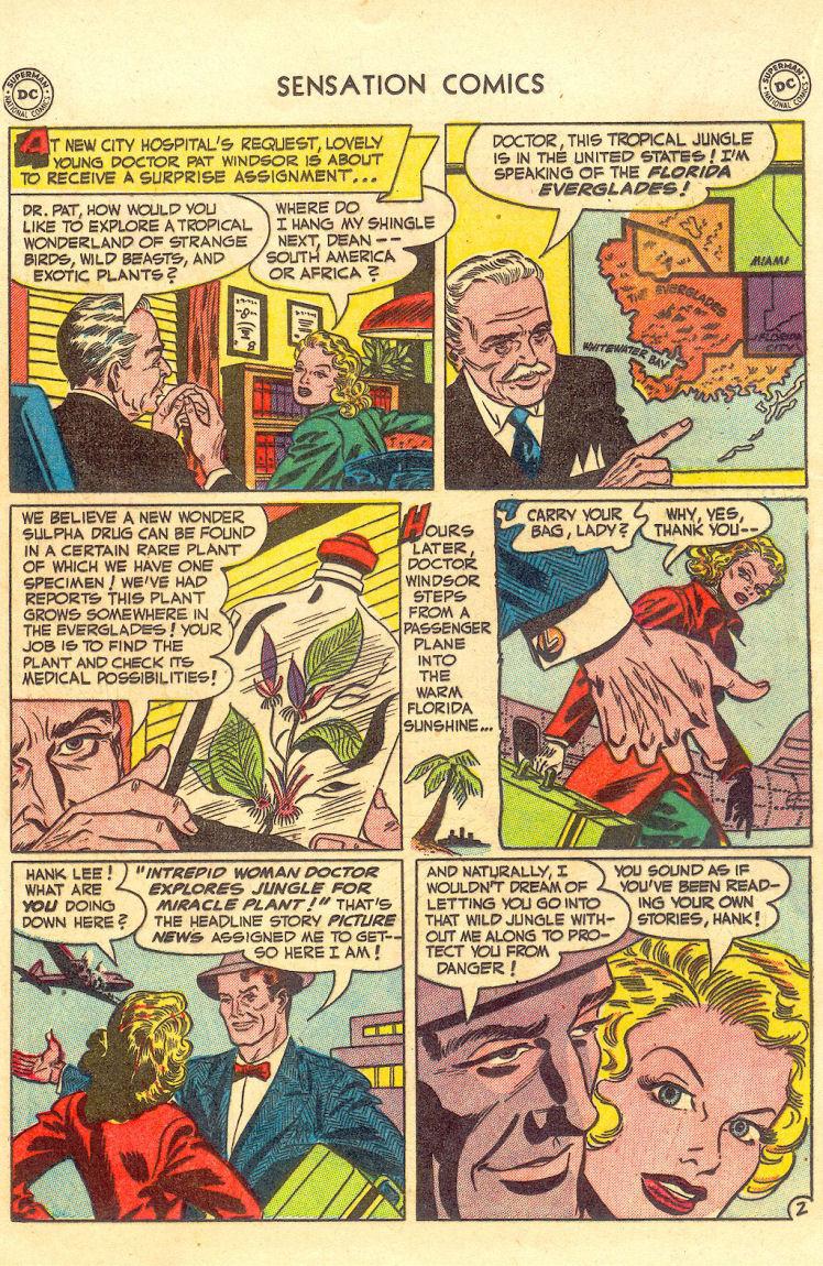 Read online Sensation (Mystery) Comics comic -  Issue #105 - 18