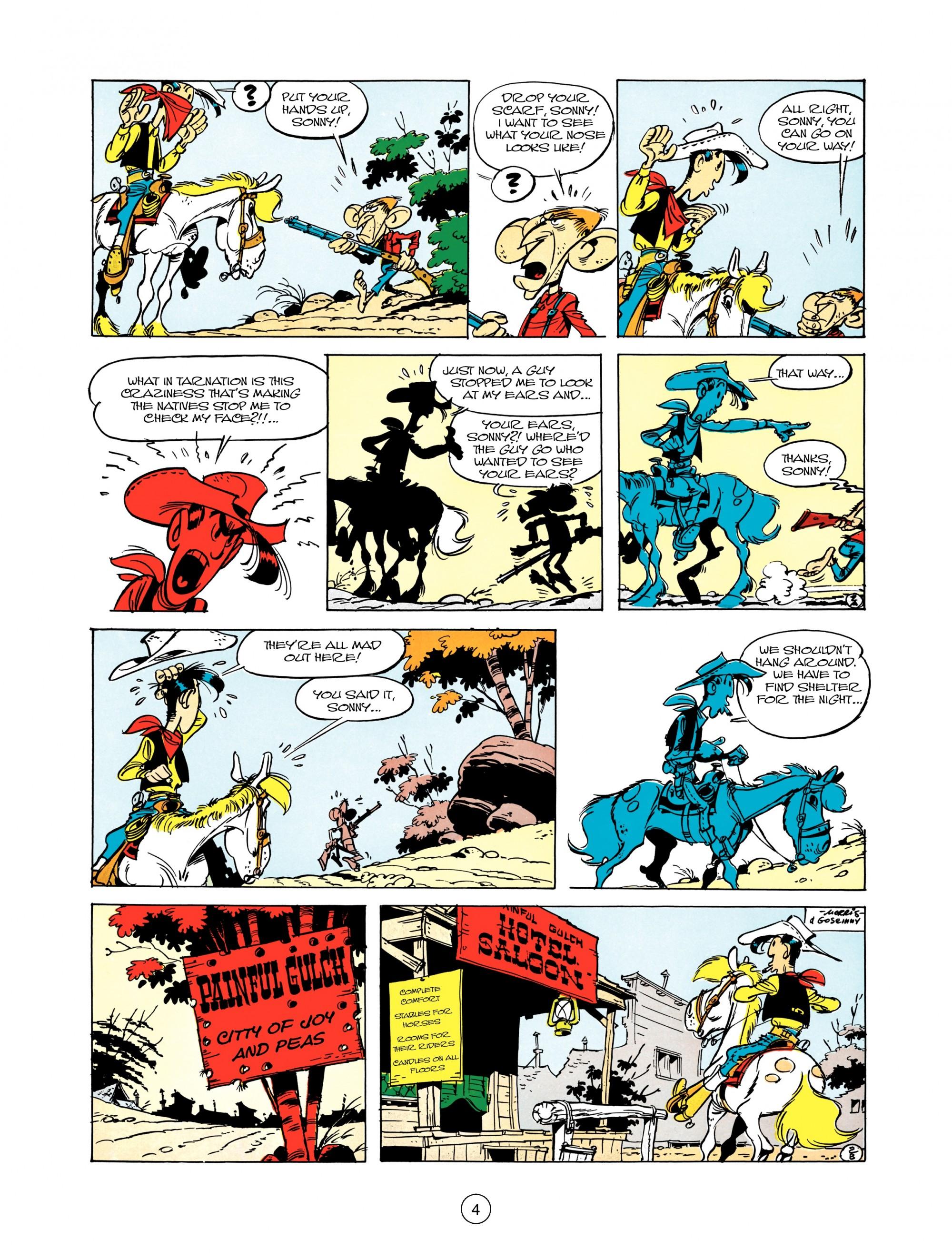 Read online A Lucky Luke Adventure comic -  Issue #12 - 4