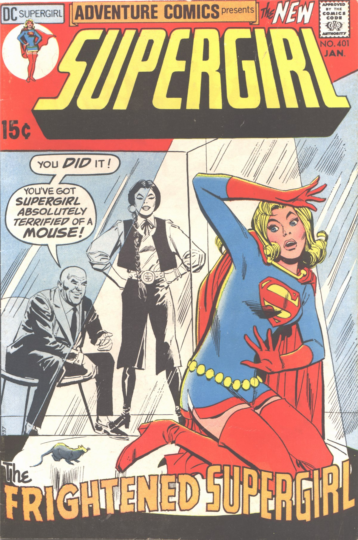 Read online Adventure Comics (1938) comic -  Issue #401 - 1