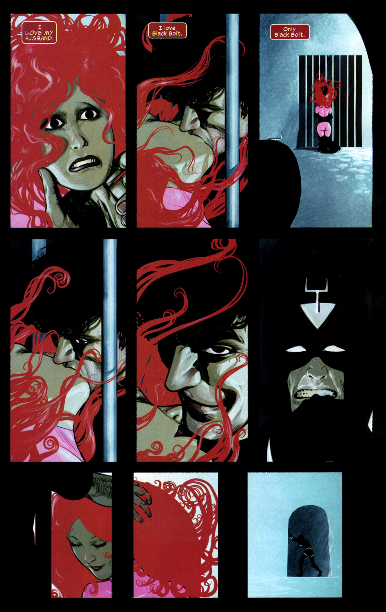 Read online Silent War comic -  Issue #4 - 10