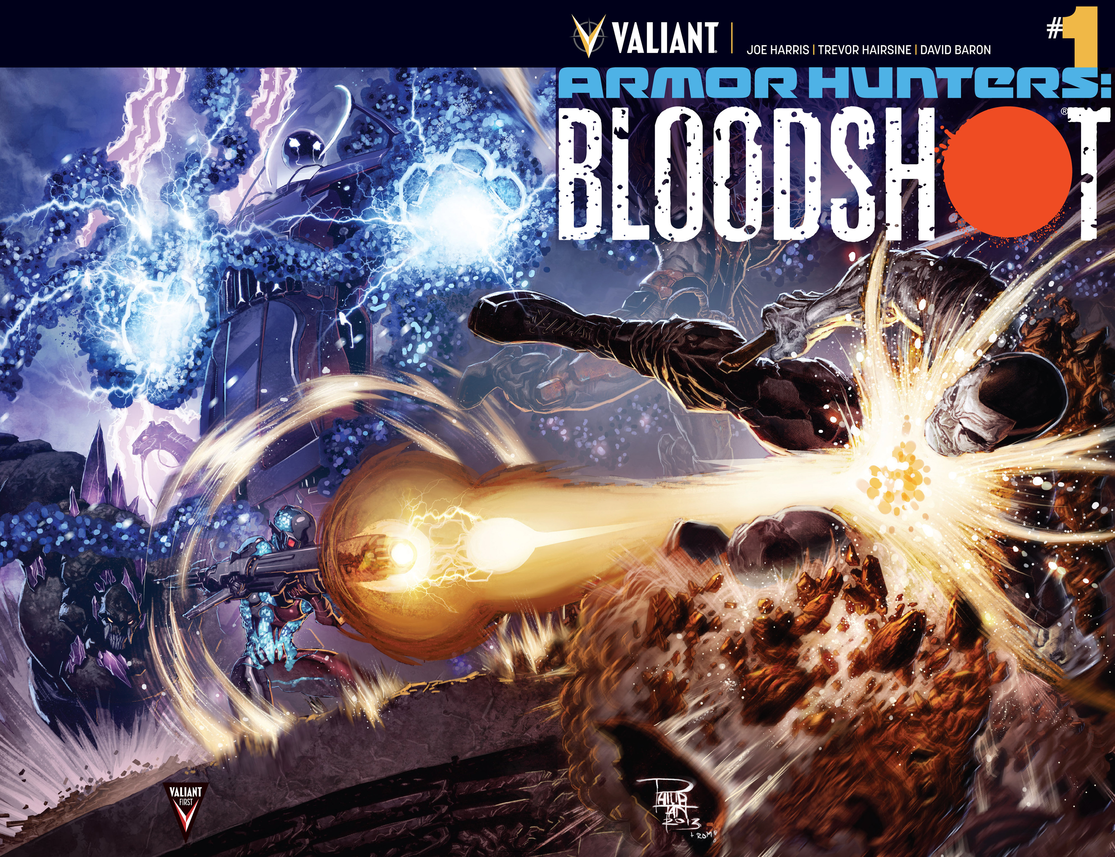 Read online Armor Hunters: Bloodshot comic -  Issue #1 - 2