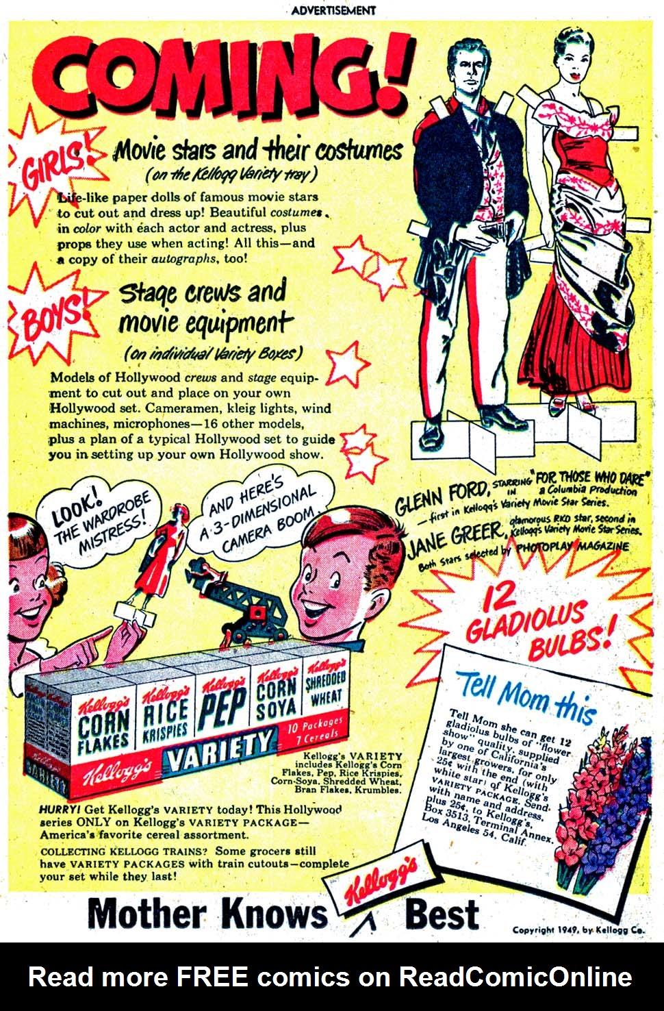 Read online Sensation (Mystery) Comics comic -  Issue #91 - 15