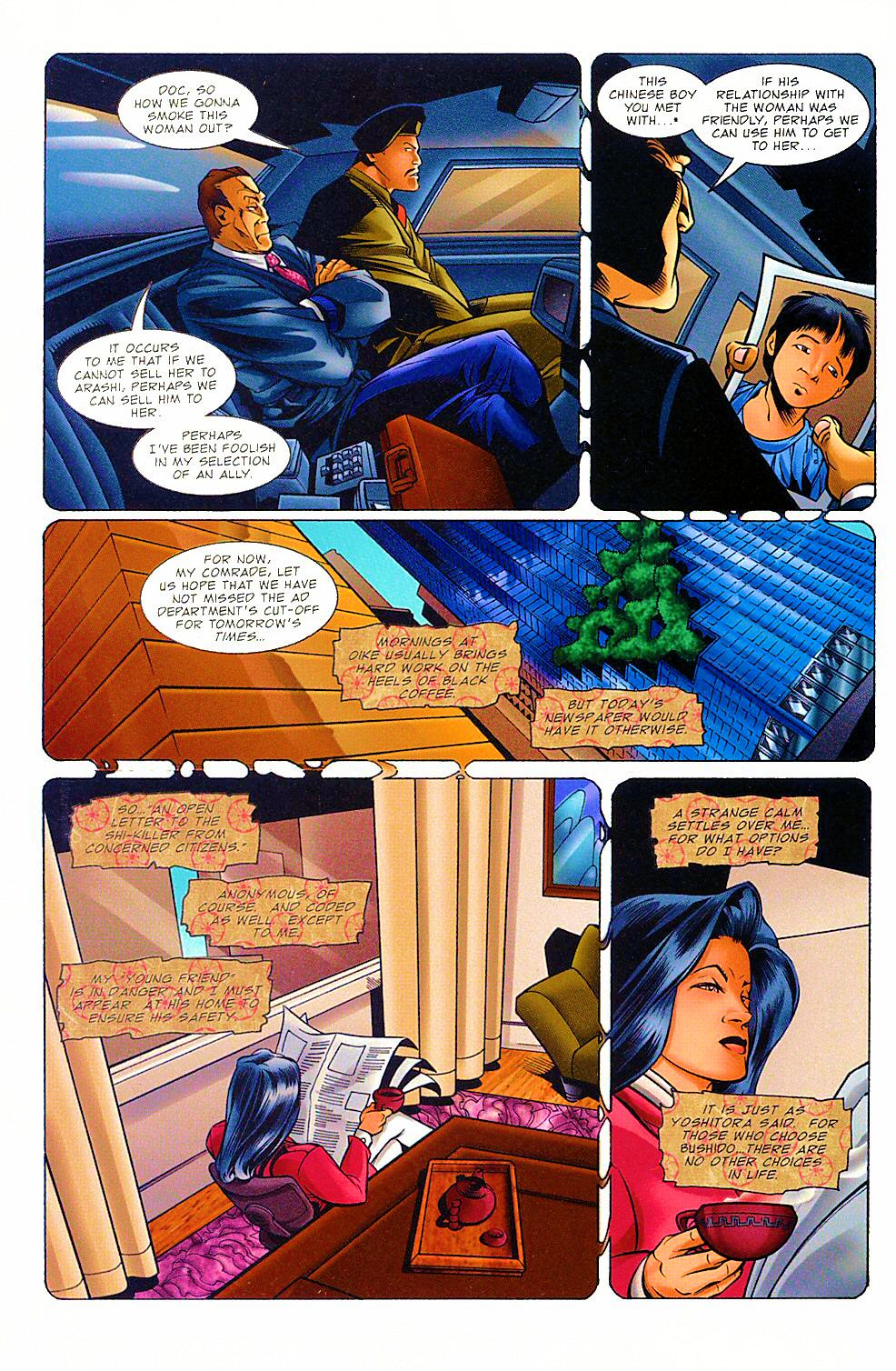 Read online Shi: The Way of the Warrior comic -  Issue #8 - 14