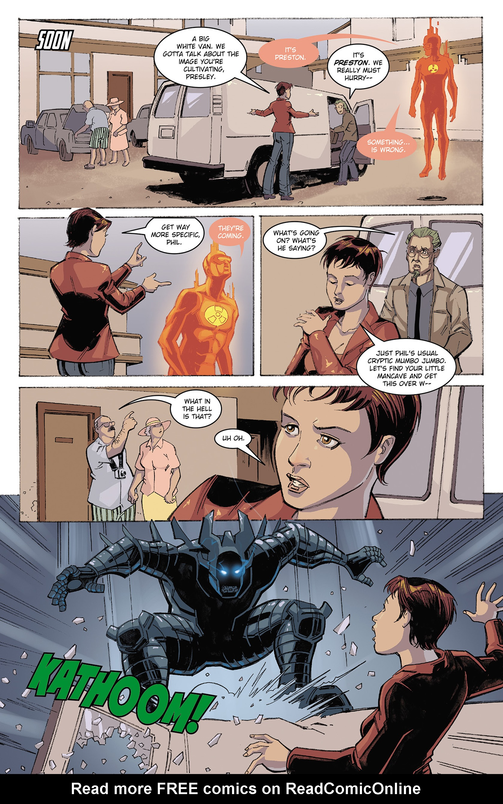 Read online Solar: Man of the Atom (2014) comic -  Issue #3 - 16