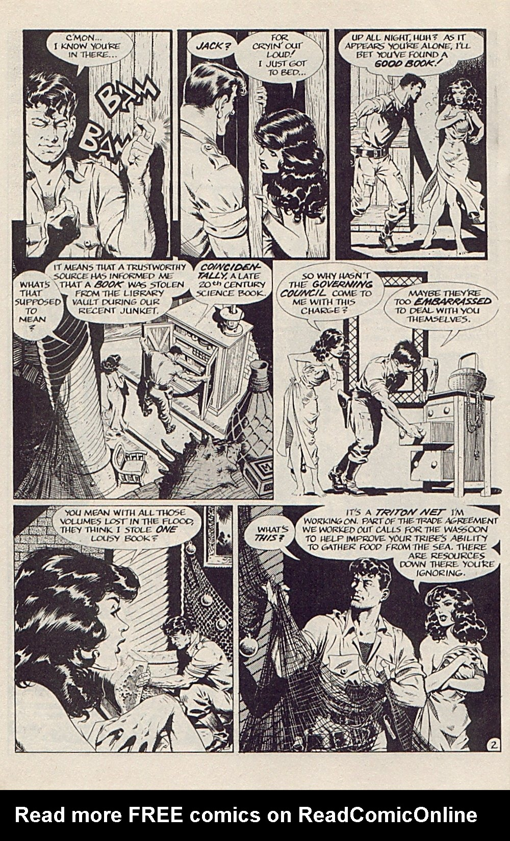 Read online Xenozoic Tales comic -  Issue #5 - 5