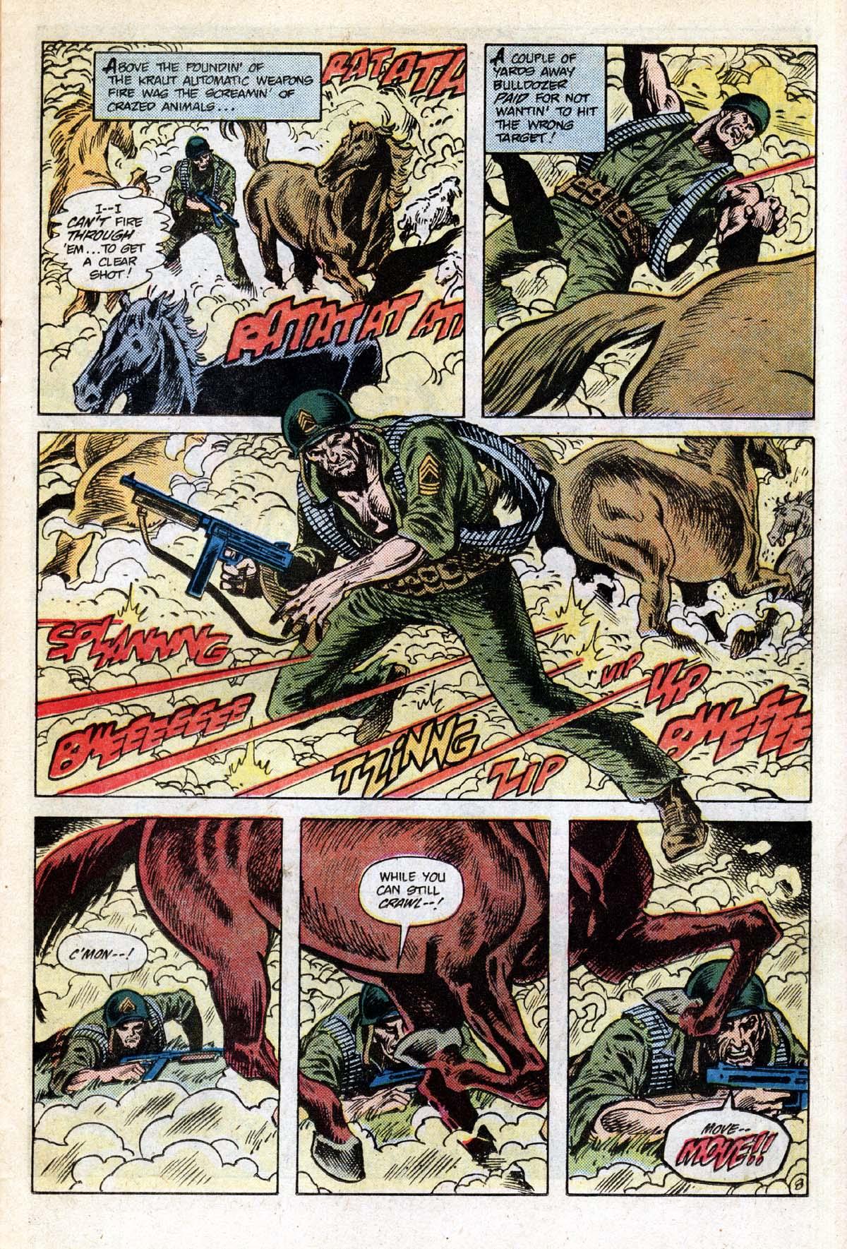 Read online Sgt. Rock comic -  Issue #391 - 9