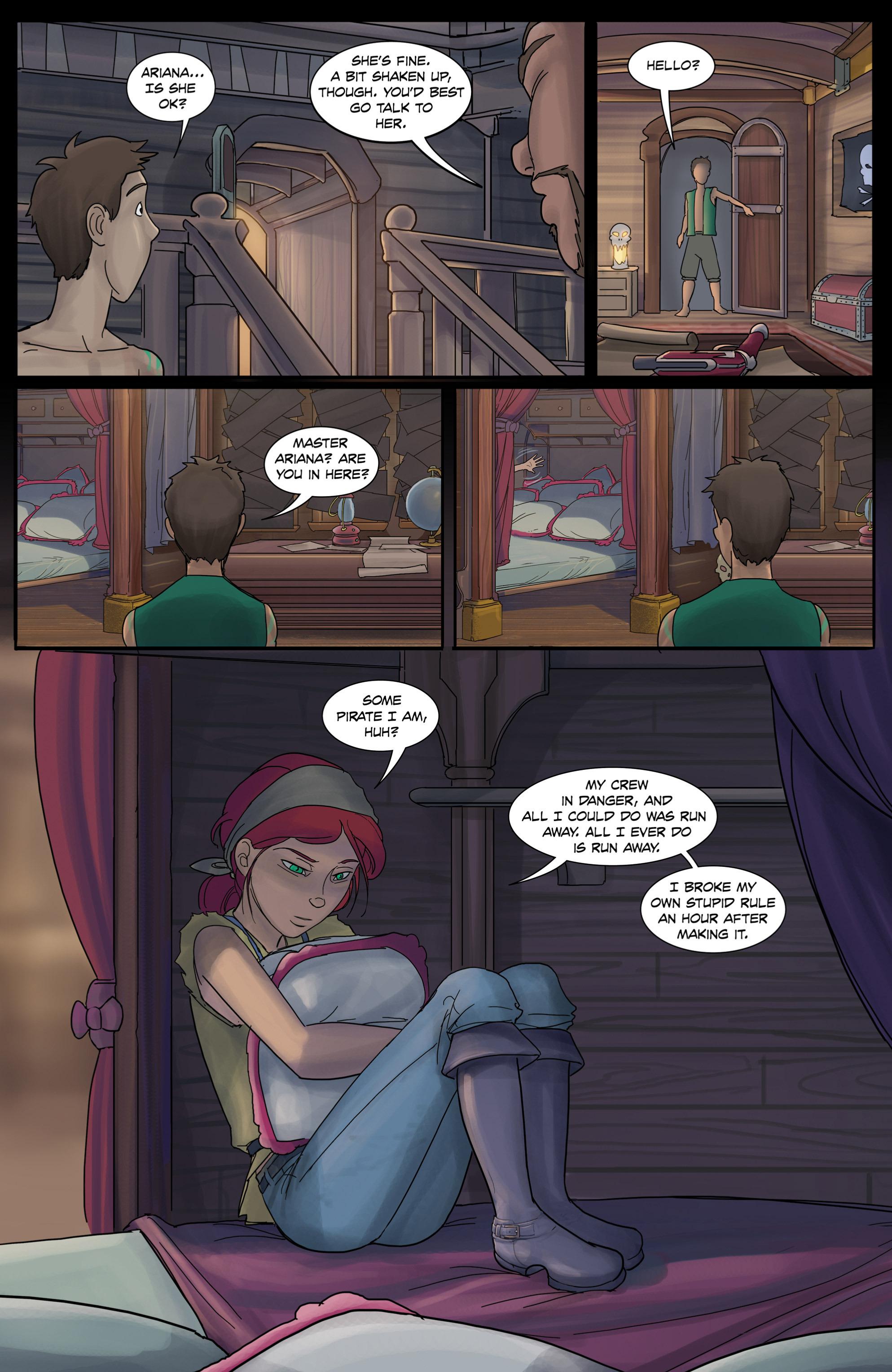 Read online Anne Bonnie comic -  Issue #3 - 24