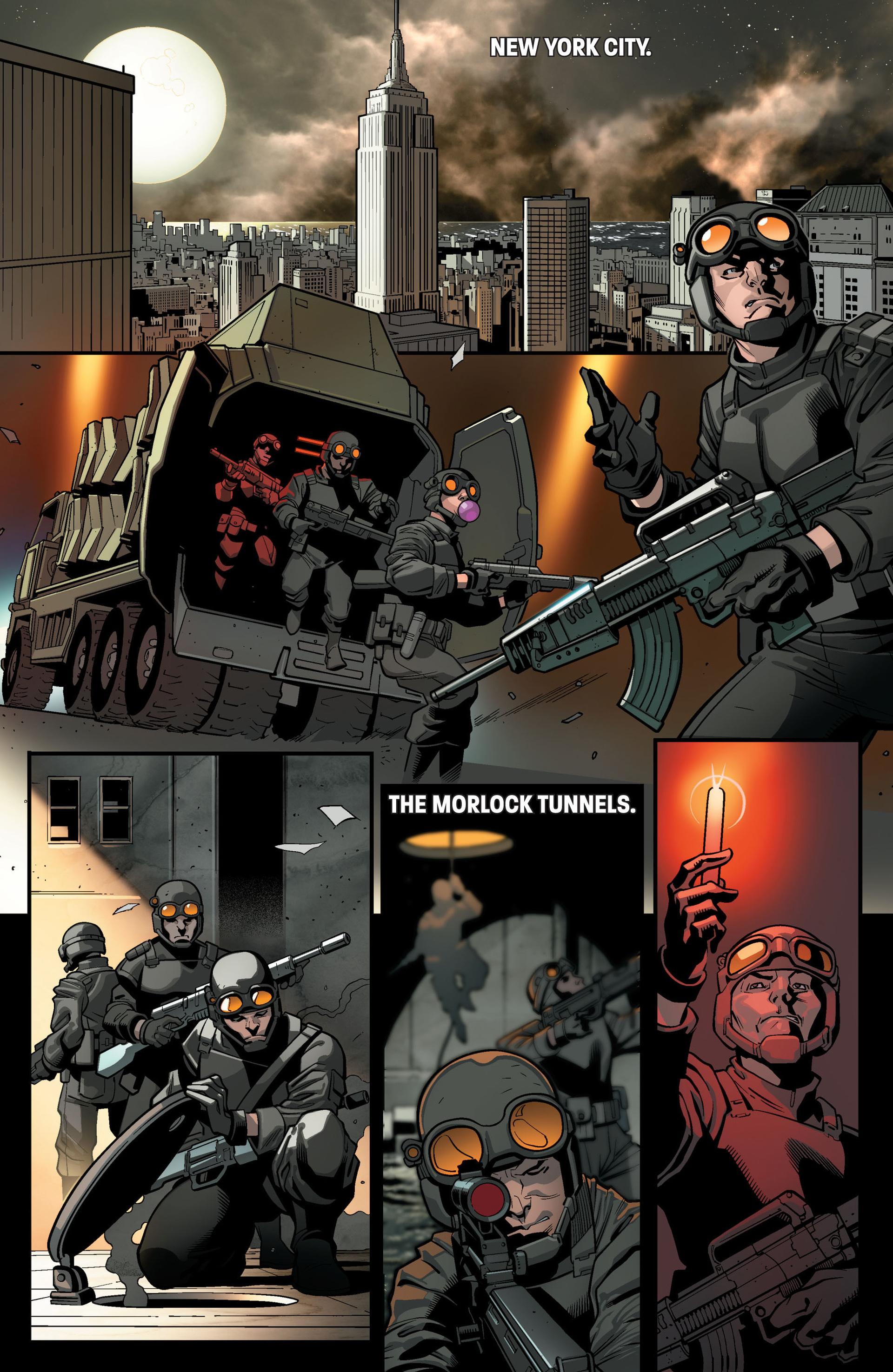 Read online Ultimate Comics X-Men comic -  Issue #14 - 4