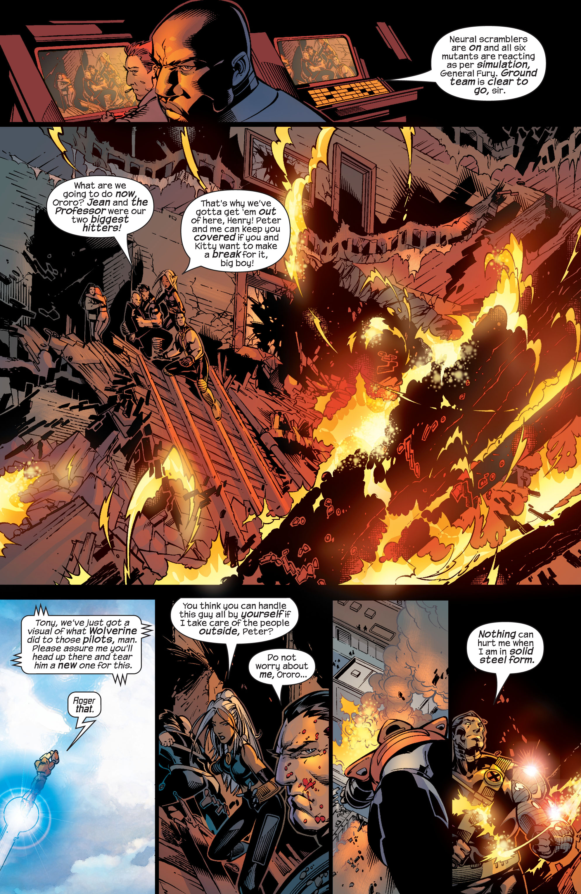 Read online Ultimate War comic -  Issue #4 - 8