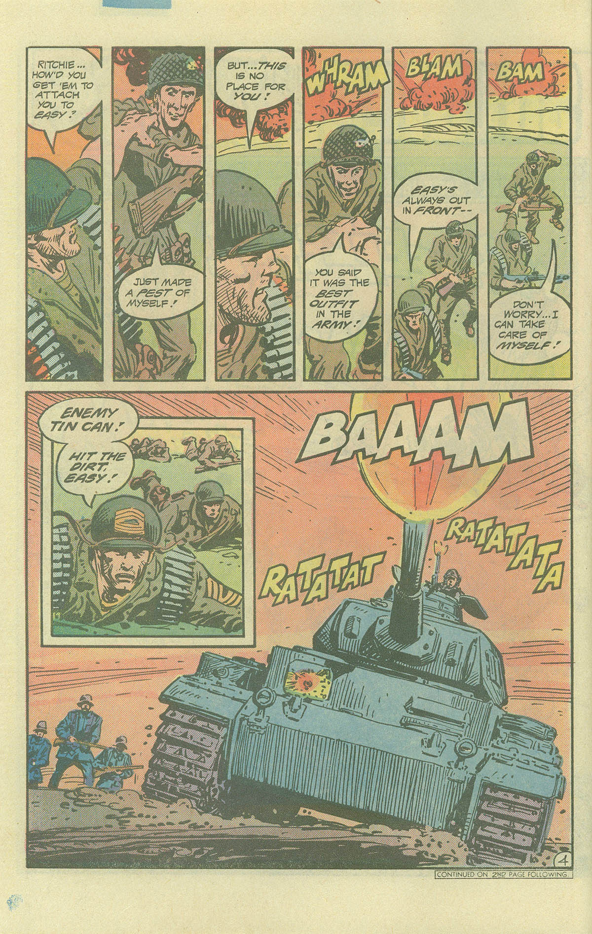 Read online Sgt. Rock comic -  Issue #393 - 4