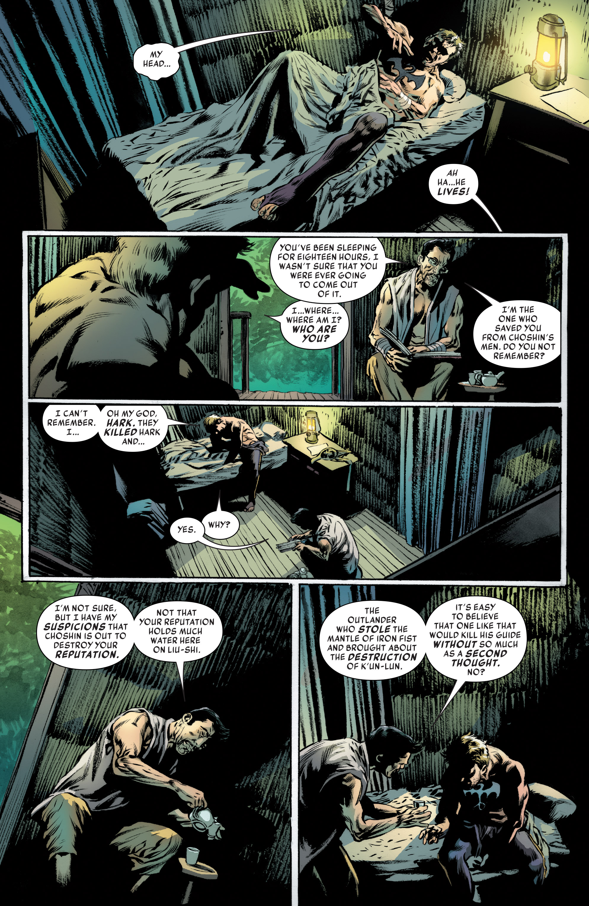 Read online Iron Fist (2017) comic -  Issue #4 - 5