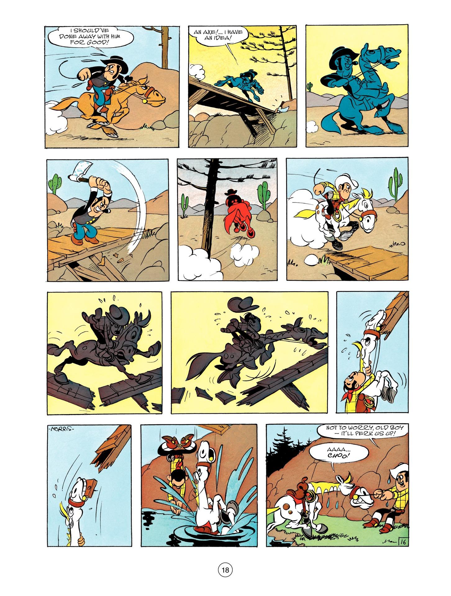 Read online A Lucky Luke Adventure comic -  Issue #55 - 18