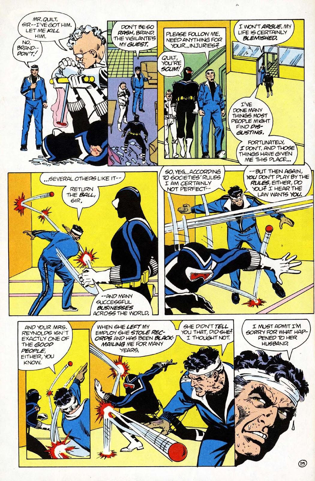 Vigilante (1983) issue 1 - Page 16