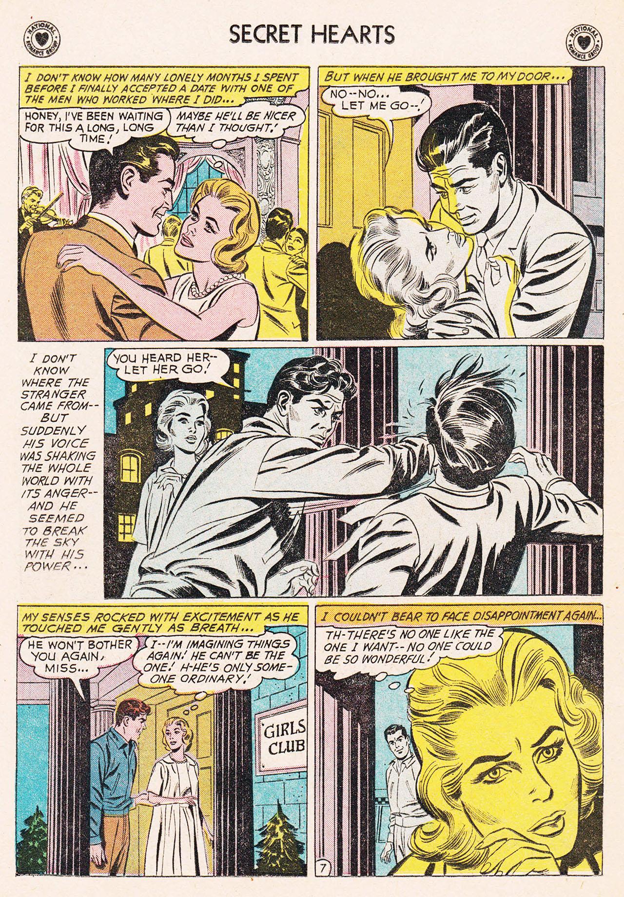 Read online Secret Hearts comic -  Issue #75 - 16