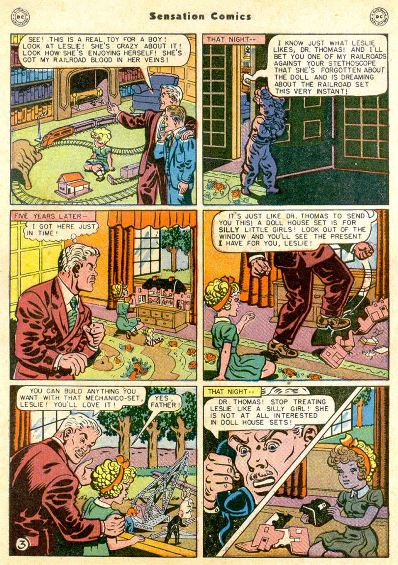 Read online Sensation (Mystery) Comics comic -  Issue #85 - 4