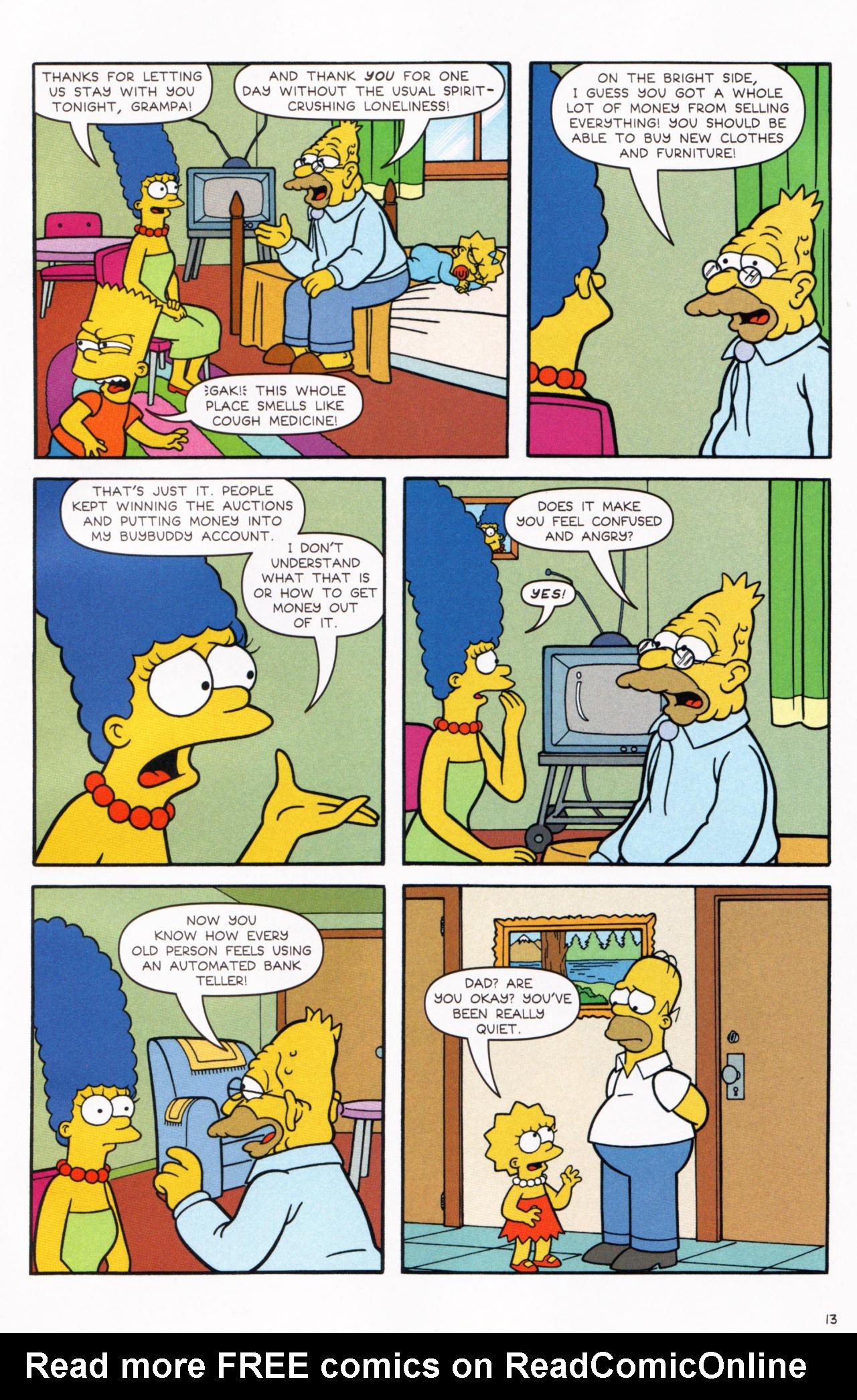 Read online Simpsons Comics comic -  Issue #130 - 11