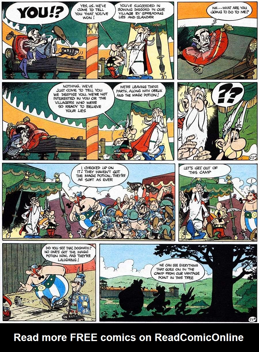 Read online Asterix comic -  Issue #15 - 32