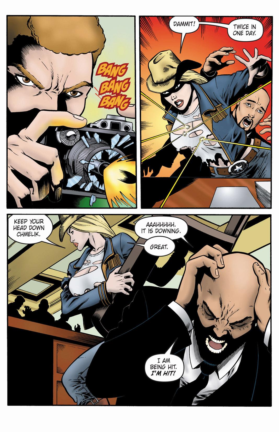 Read online SideChicks comic -  Issue #1 - 31