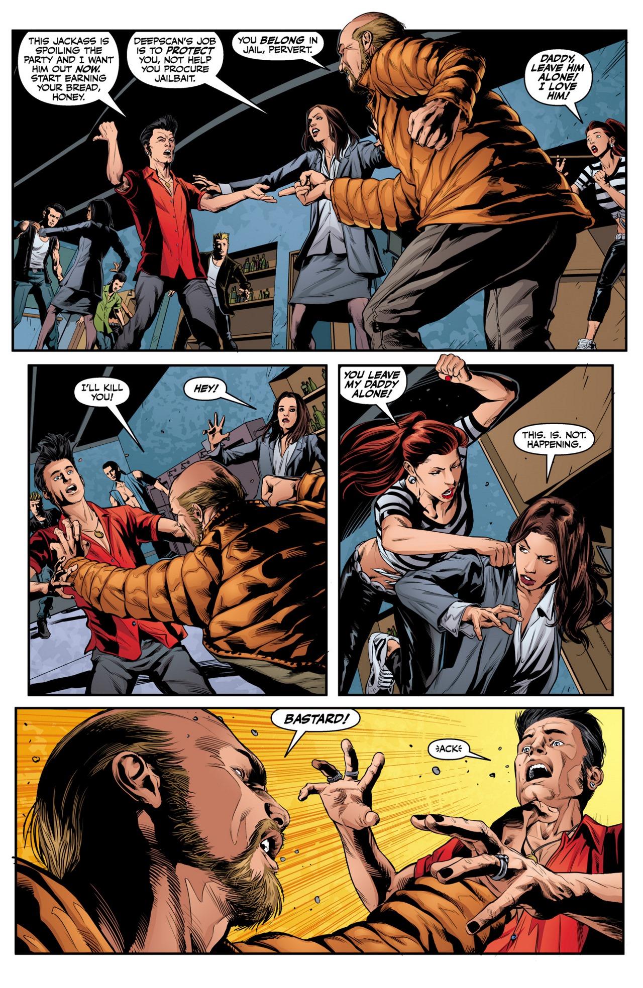 Read online Angel & Faith Season 10 comic -  Issue #2 - 23