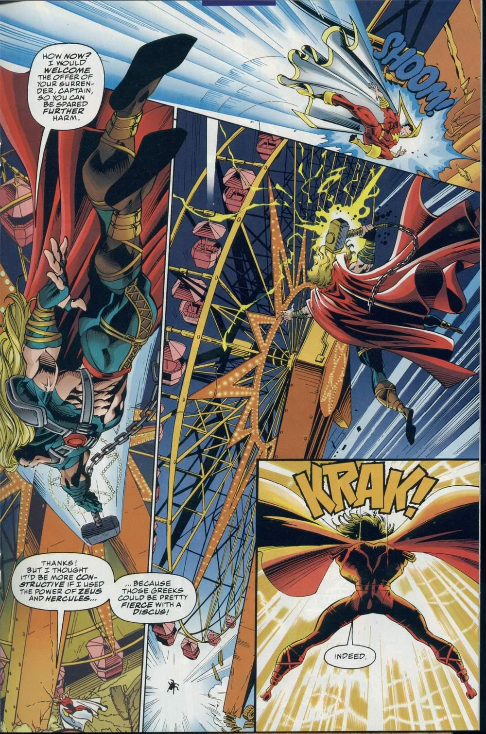 Read online DC Versus Marvel Comics comic -  Issue #2 - 22