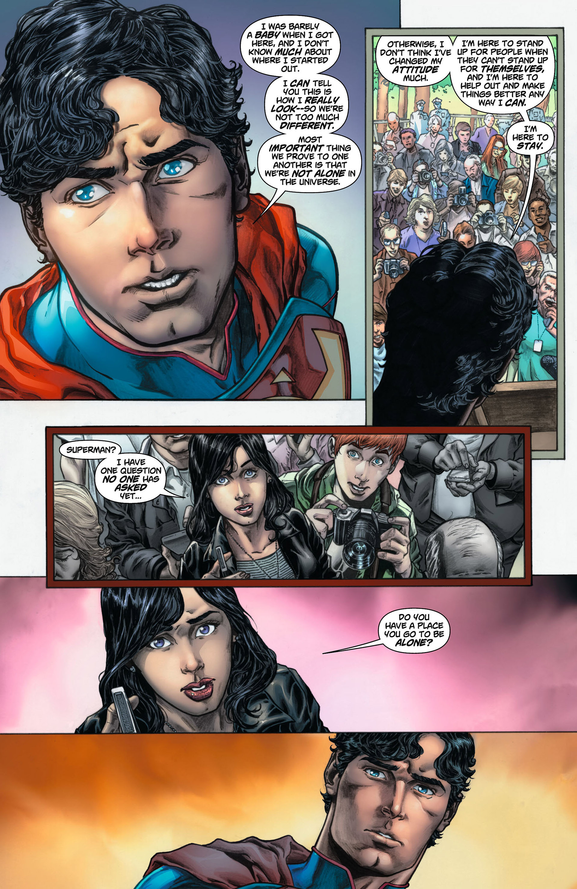 Read online Action Comics (2011) comic -  Issue #8 - 26