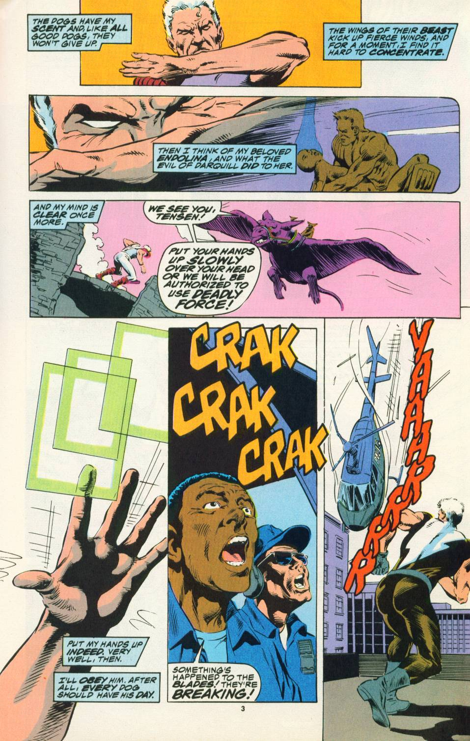 Read online Justice (1986) comic -  Issue #22 - 4