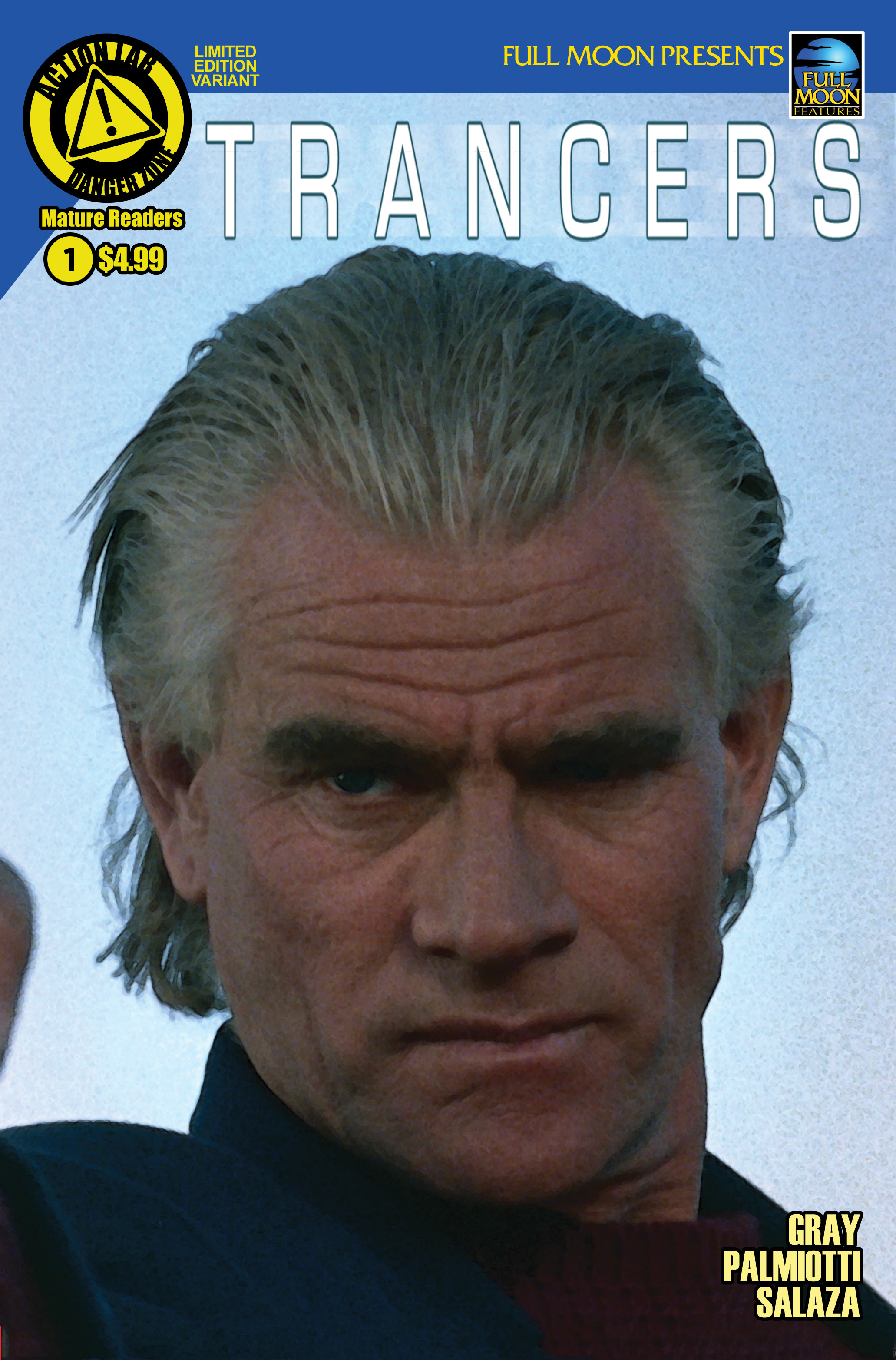Read online Trancers comic -  Issue #1 - 3