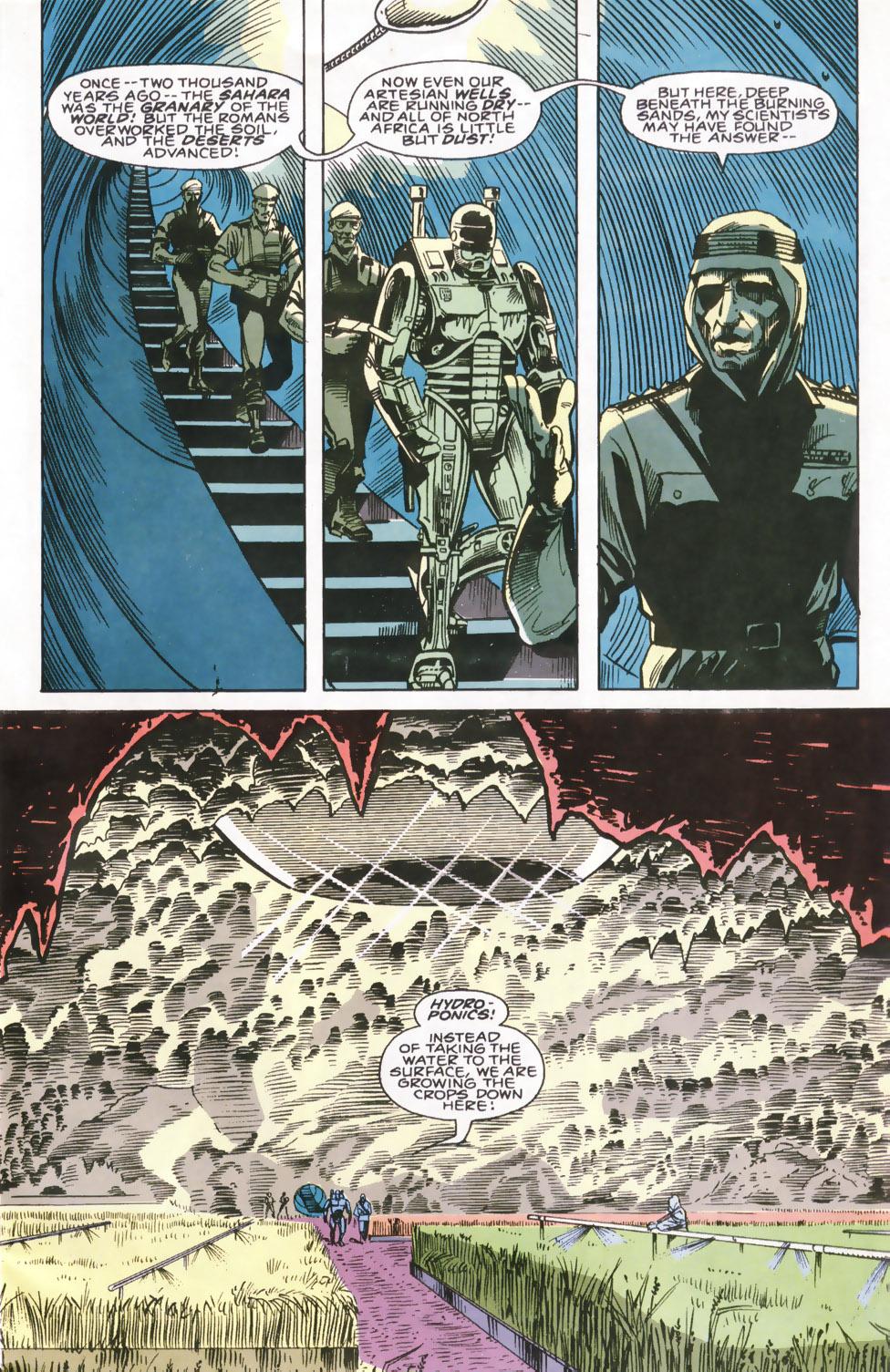 Read online Robocop (1990) comic -  Issue #6 - 6
