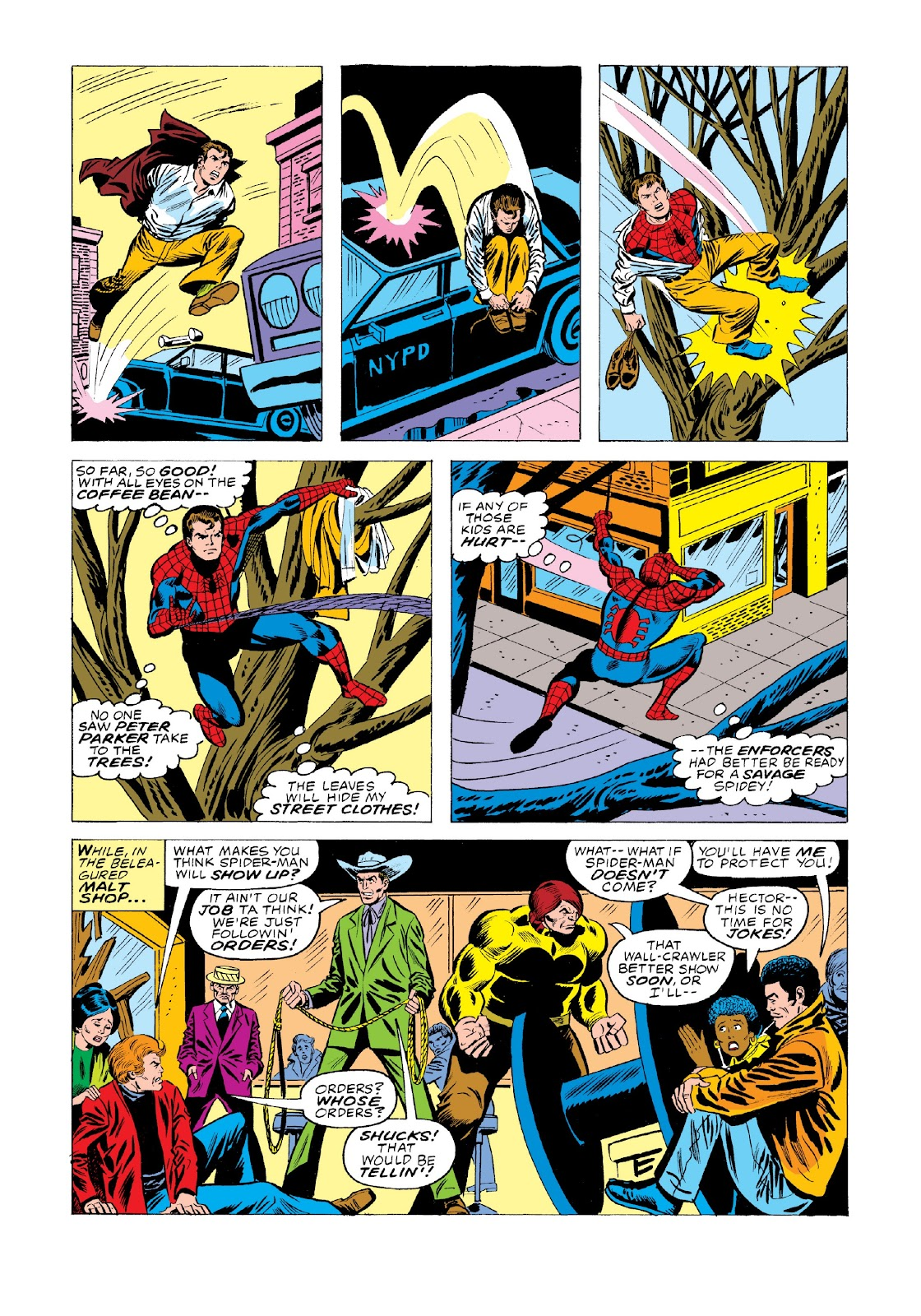 Read online Marvel Masterworks: The Spectacular Spider-Man comic -  Issue # TPB 2 (Part 1) - 73