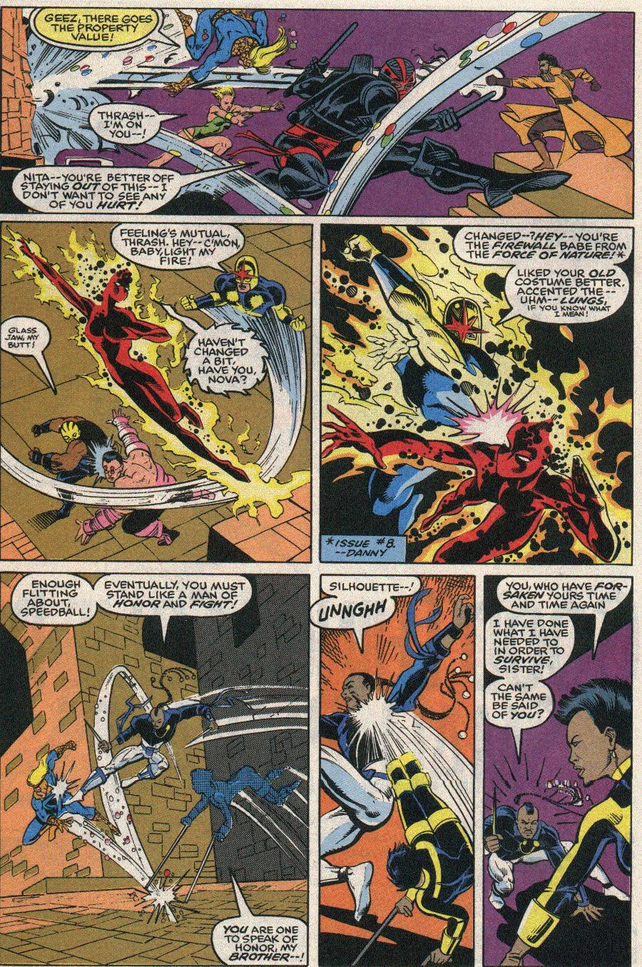 The New Warriors Issue #24 #28 - English 5