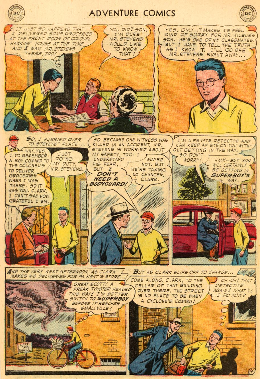 Read online Adventure Comics (1938) comic -  Issue #228 - 6