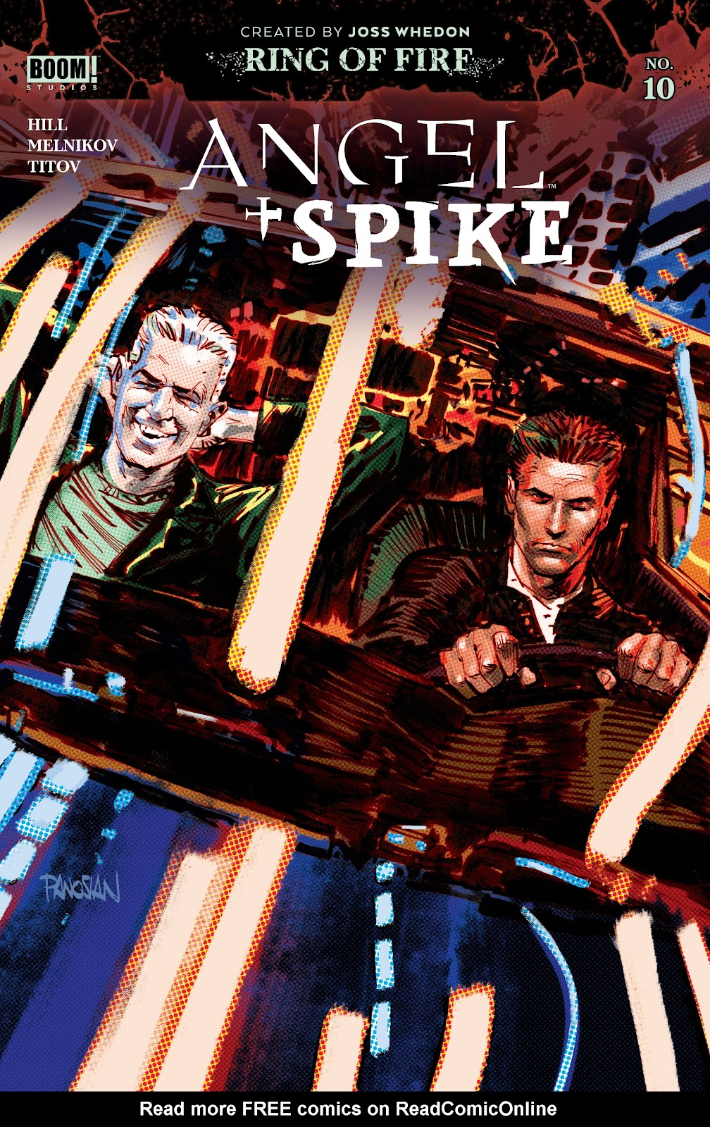 Read online Angel   Spike comic -  Issue #10 - 1