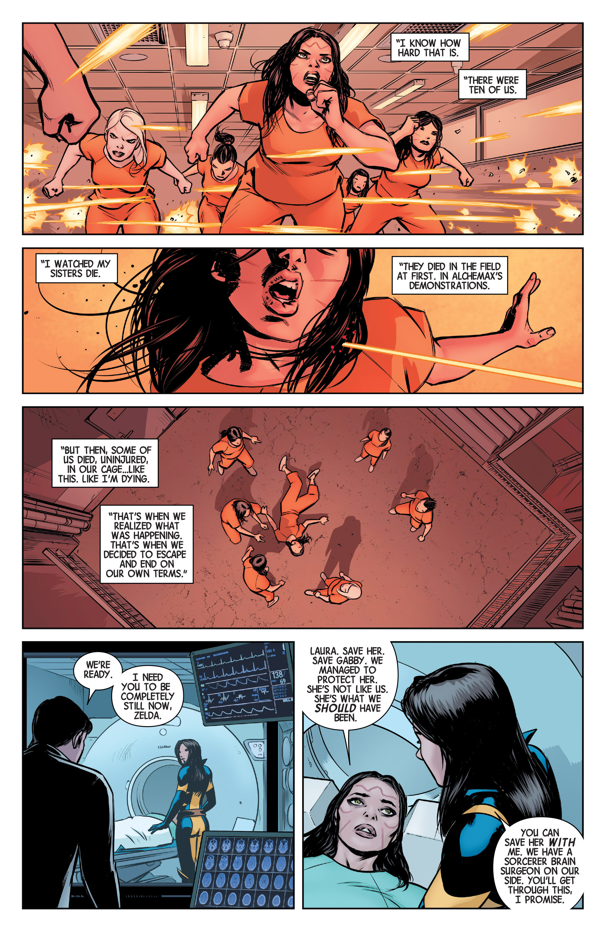 Read online All-New Wolverine (2016) comic -  Issue #4 - 19