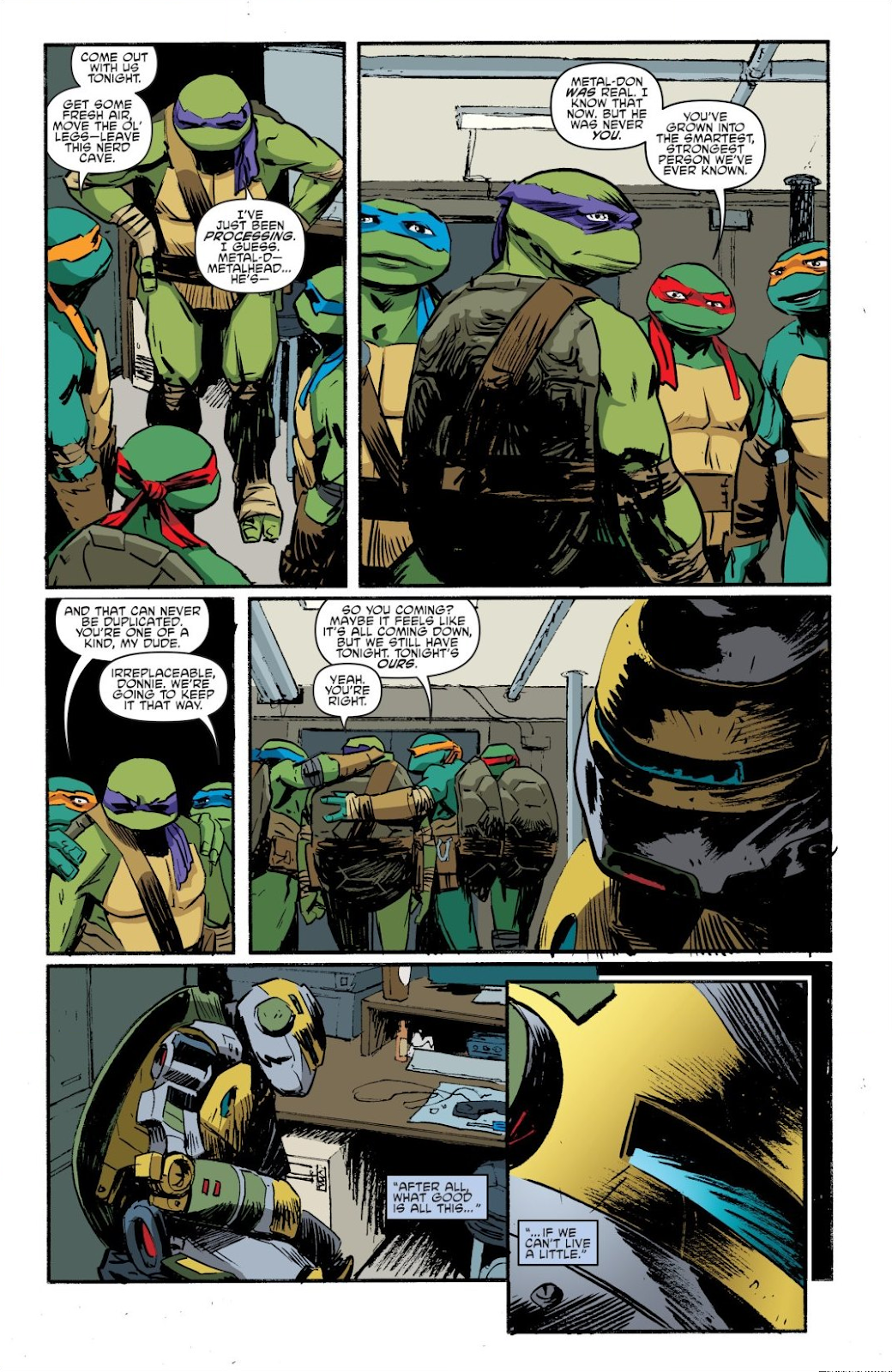 Read online Teenage Mutant Ninja Turtles: The IDW Collection comic -  Issue # TPB 8 (Part 4) - 79