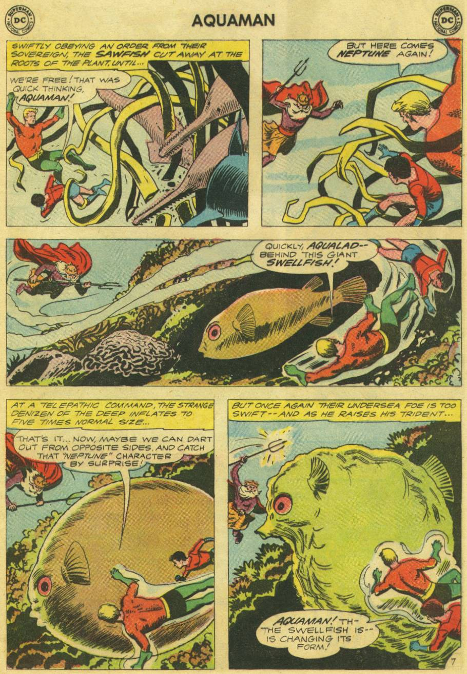 Read online Aquaman (1962) comic -  Issue #9 - 9