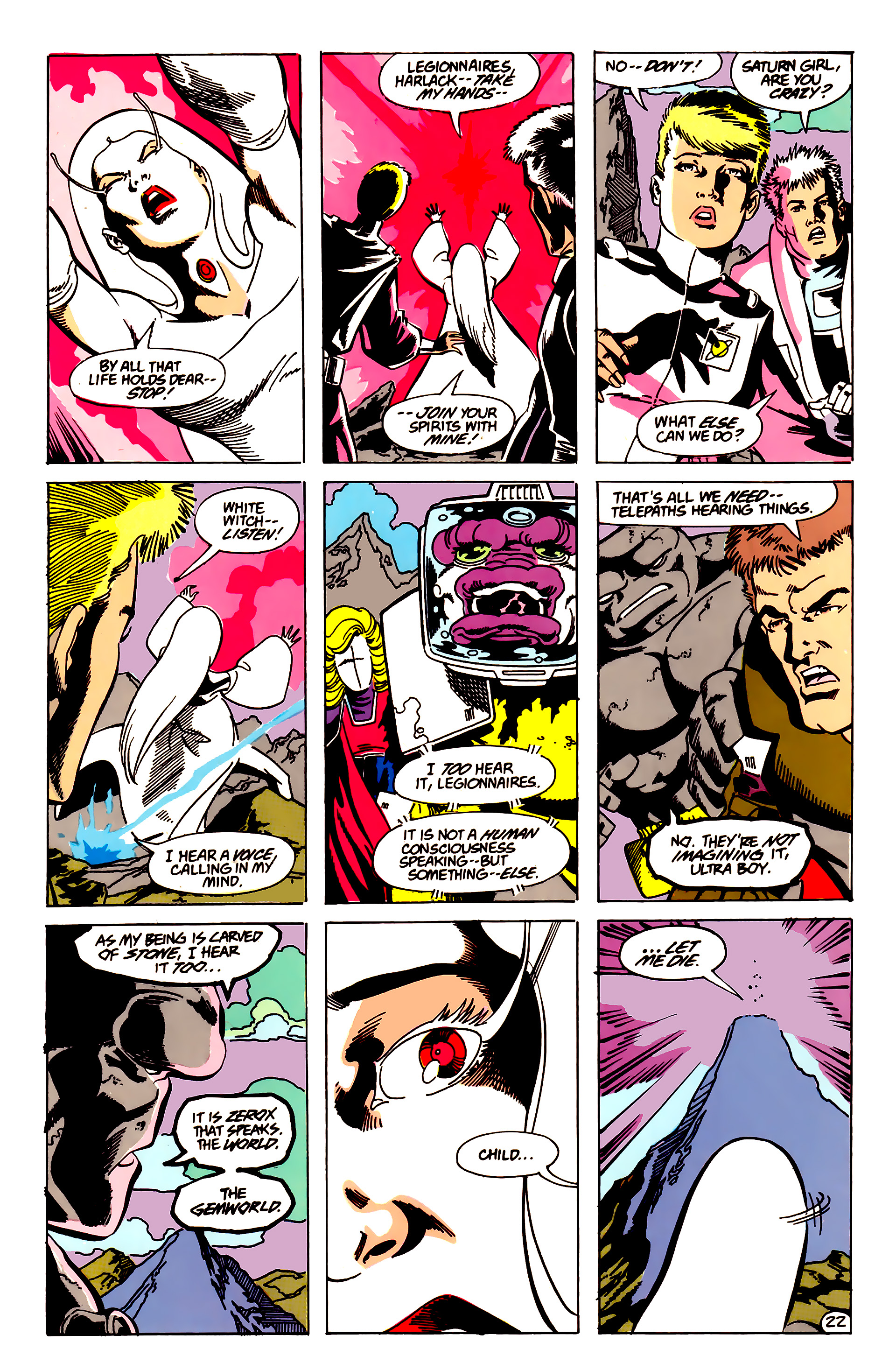 Legion of Super-Heroes (1984) 63 Page 22