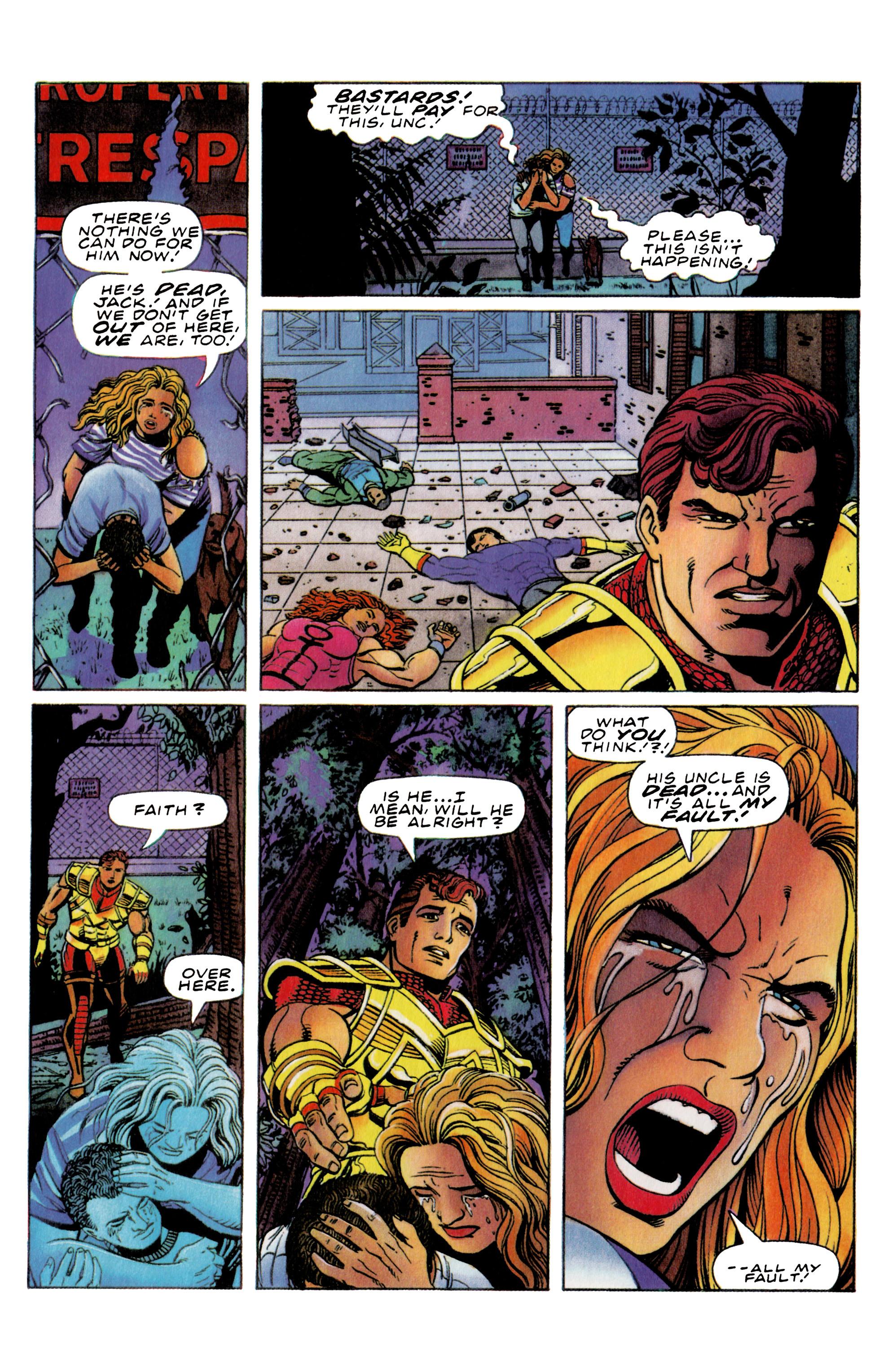Read online Harbinger (1992) comic -  Issue #36 - 10