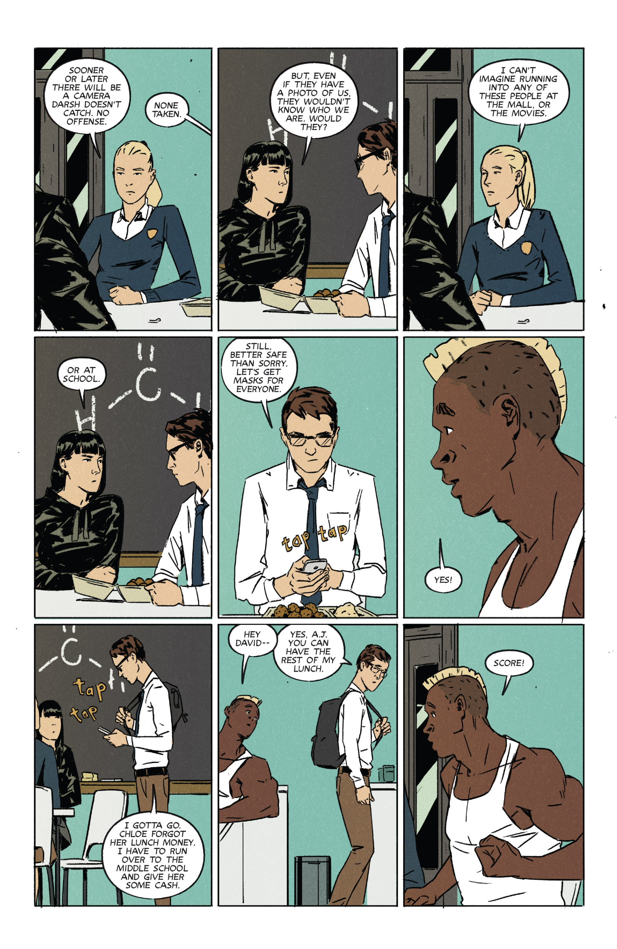 Read online Night Owl Society comic -  Issue #2 - 16