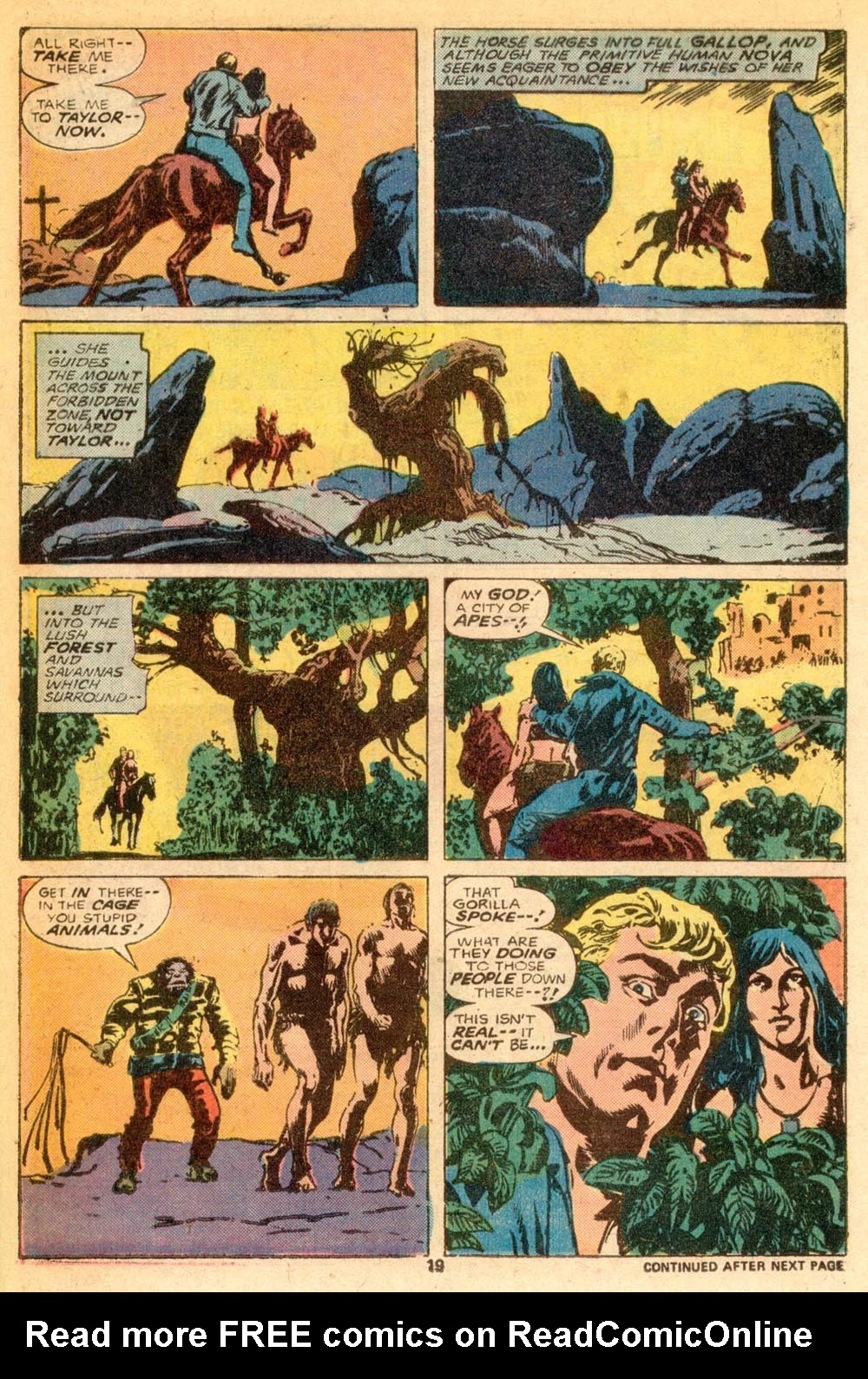Read online Adventures on the Planet of the Apes comic -  Issue #7 - 13