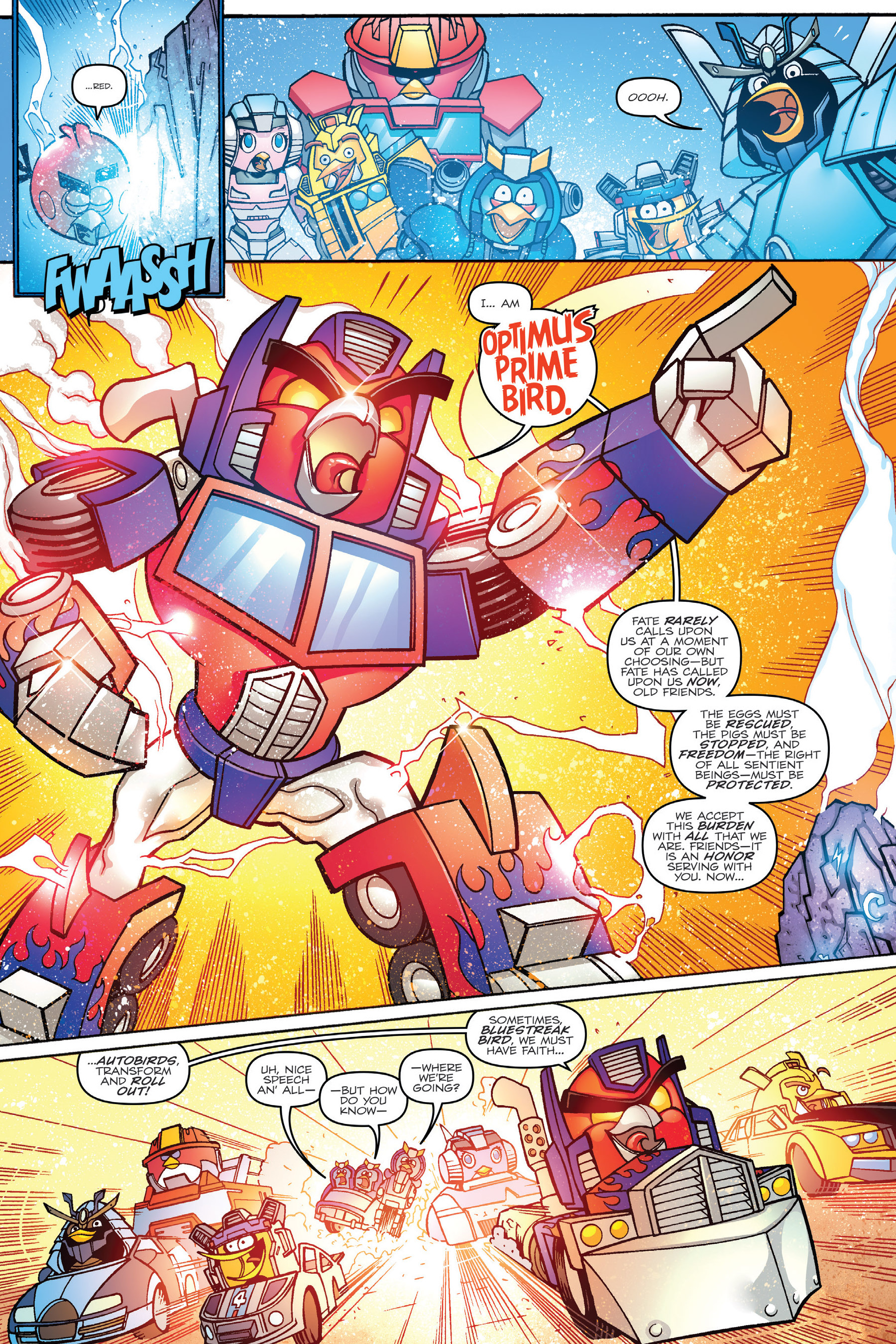 Read online Angry Birds Transformers: Age of Eggstinction comic -  Issue # Full - 34
