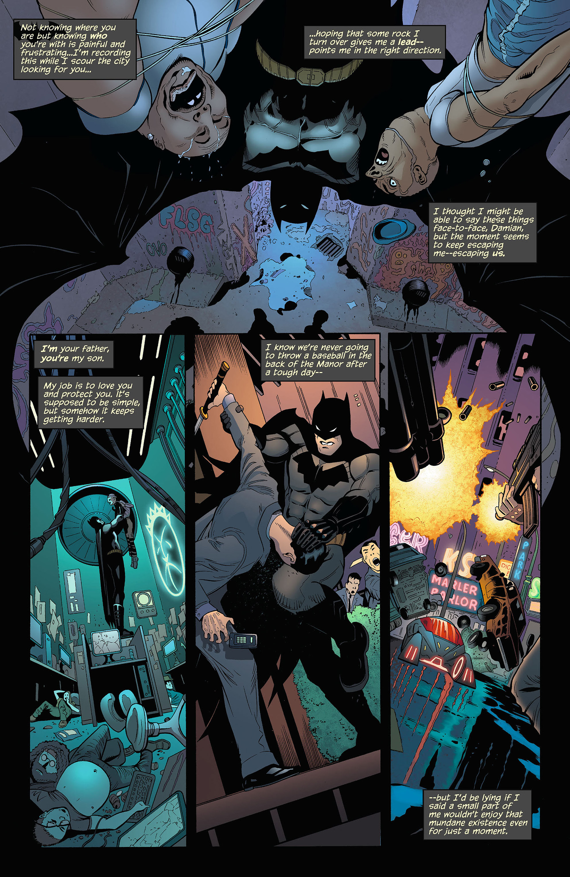 Read online Batman and Robin (2011) comic -  Issue #5 - 8