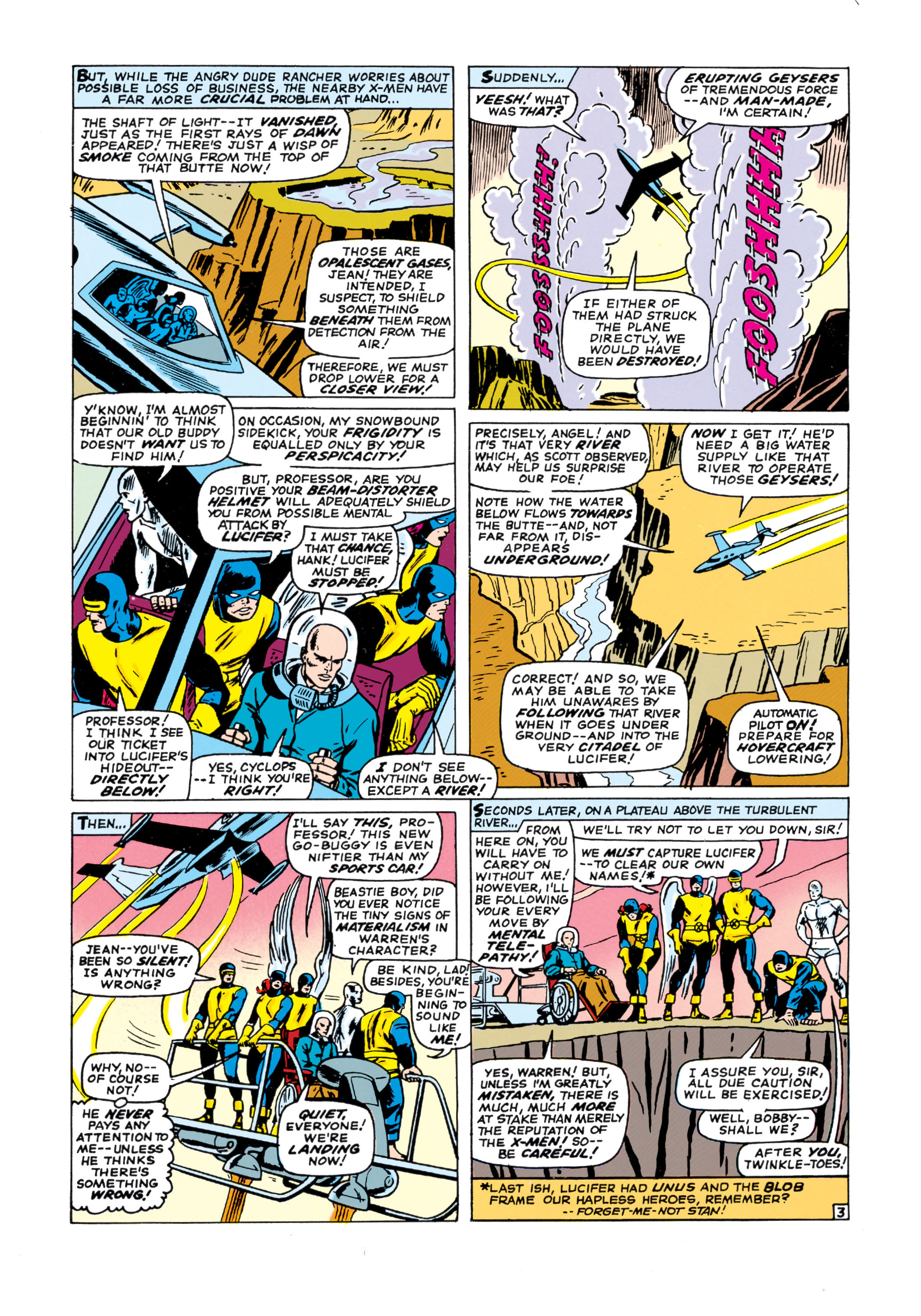 Read online Uncanny X-Men (1963) comic -  Issue #21 - 4