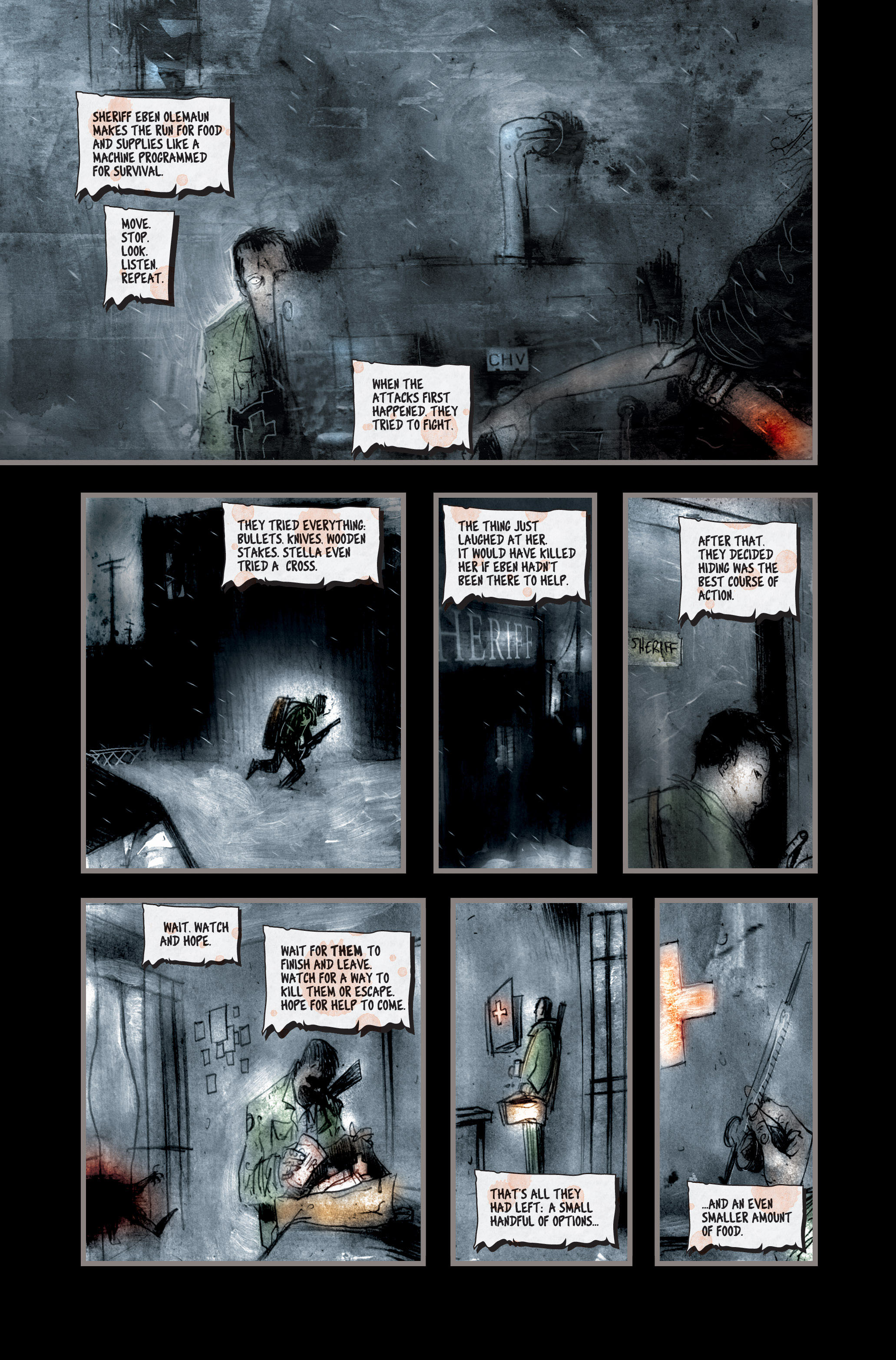 Read online 30 Days of Night (2002) comic -  Issue #2 - 12