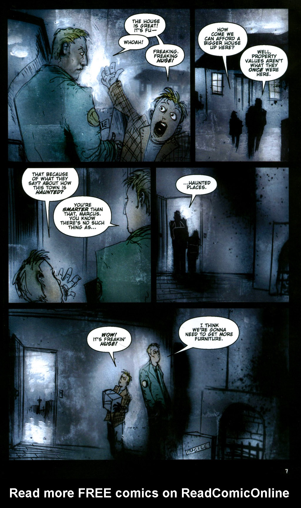 Read online 30 Days of Night: Return to Barrow comic -  Issue #1 - 9