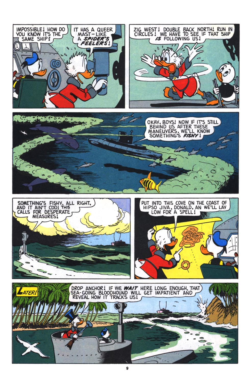 Read online Uncle Scrooge (1953) comic -  Issue #256 - 10