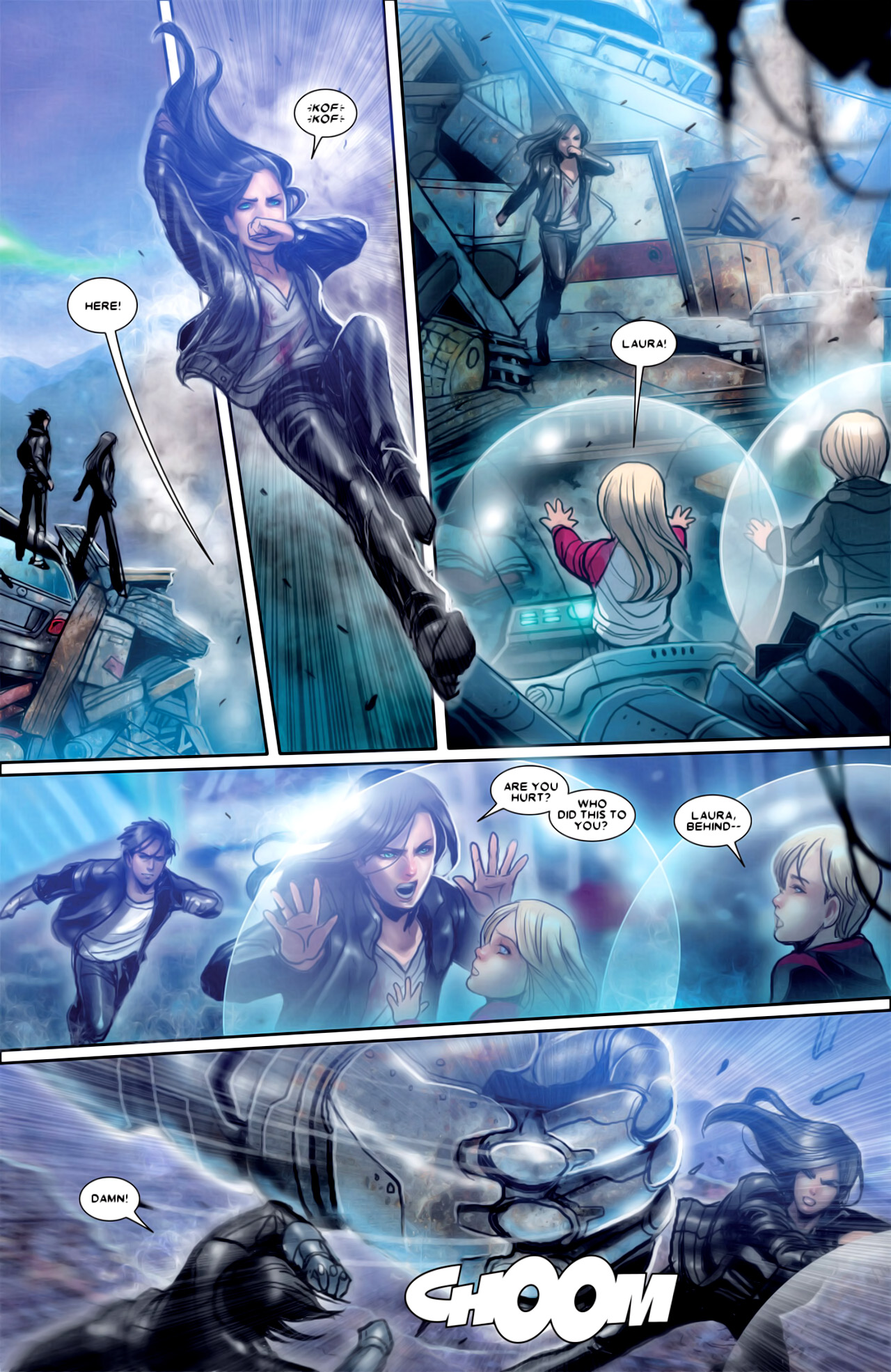 Read online X-23 (2010) comic -  Issue #18 - 17