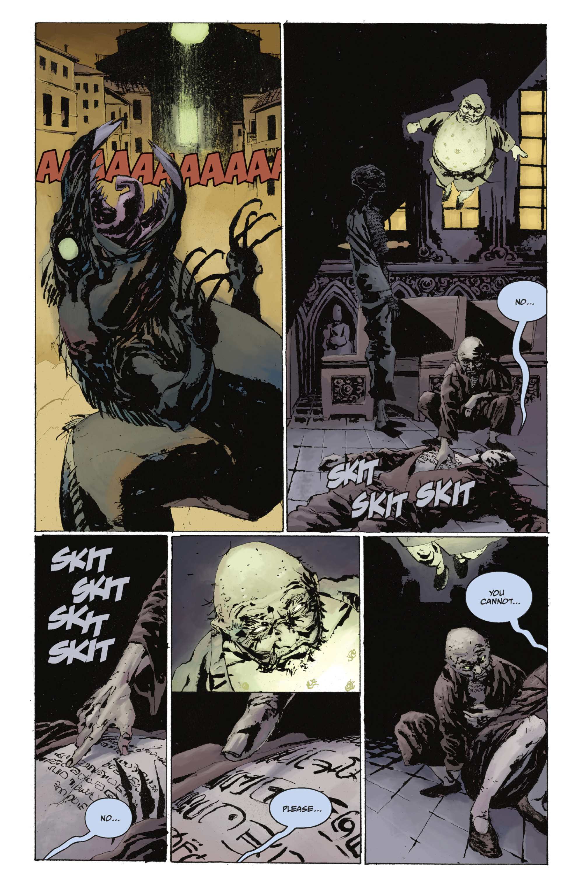 Read online Abe Sapien: The Drowning comic -  Issue #Abe Sapien: The Drowning _TPB - 73