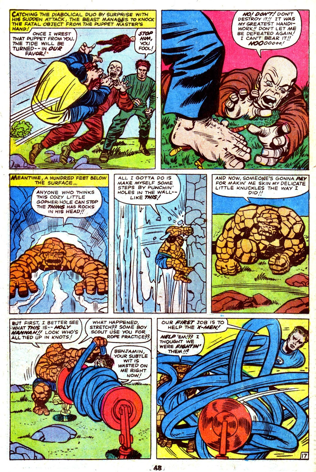 Giant-Size Fantastic Four issue 4 - Page 50