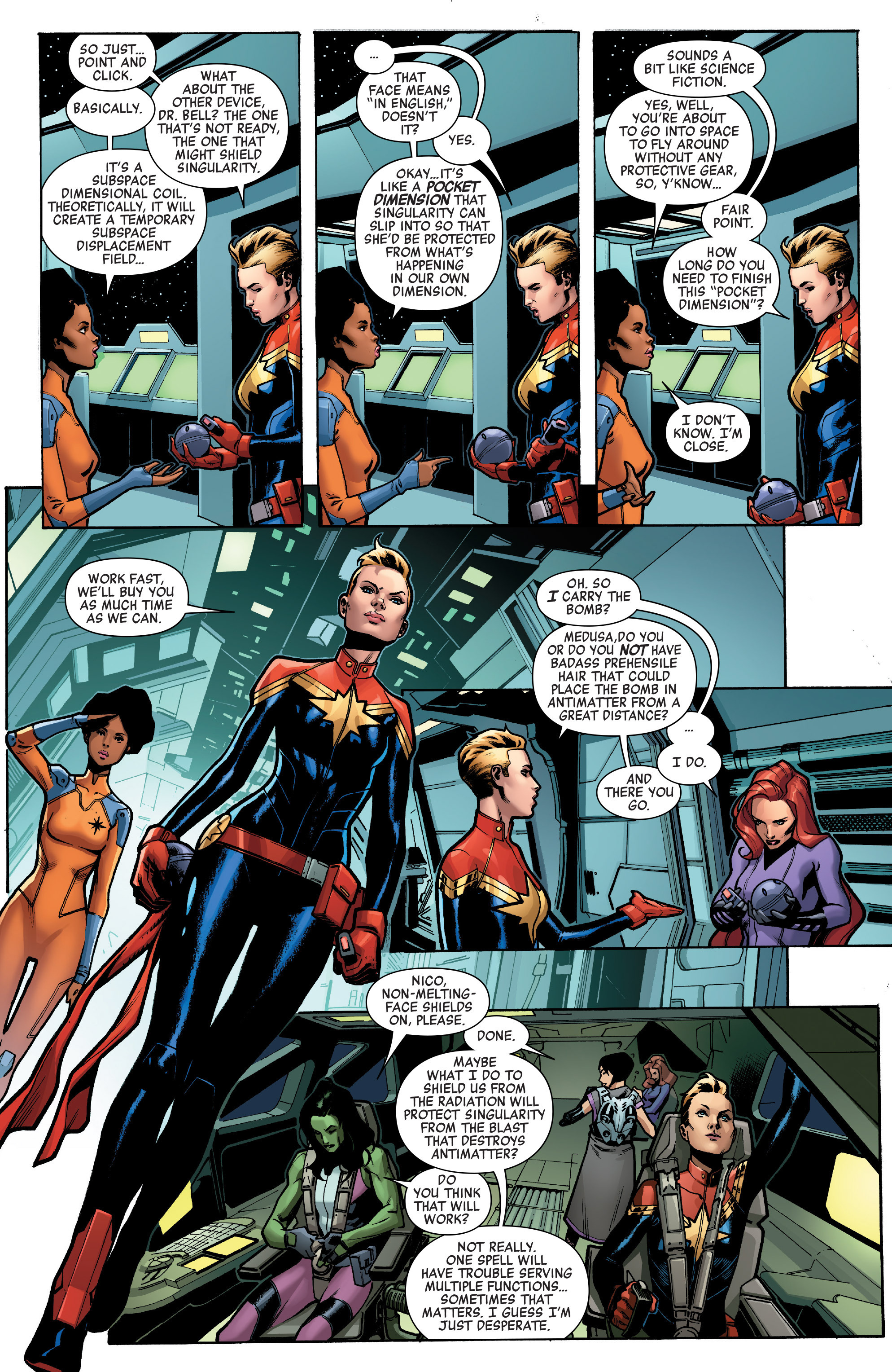 Read online A-Force (2016) comic -  Issue #4 - 6